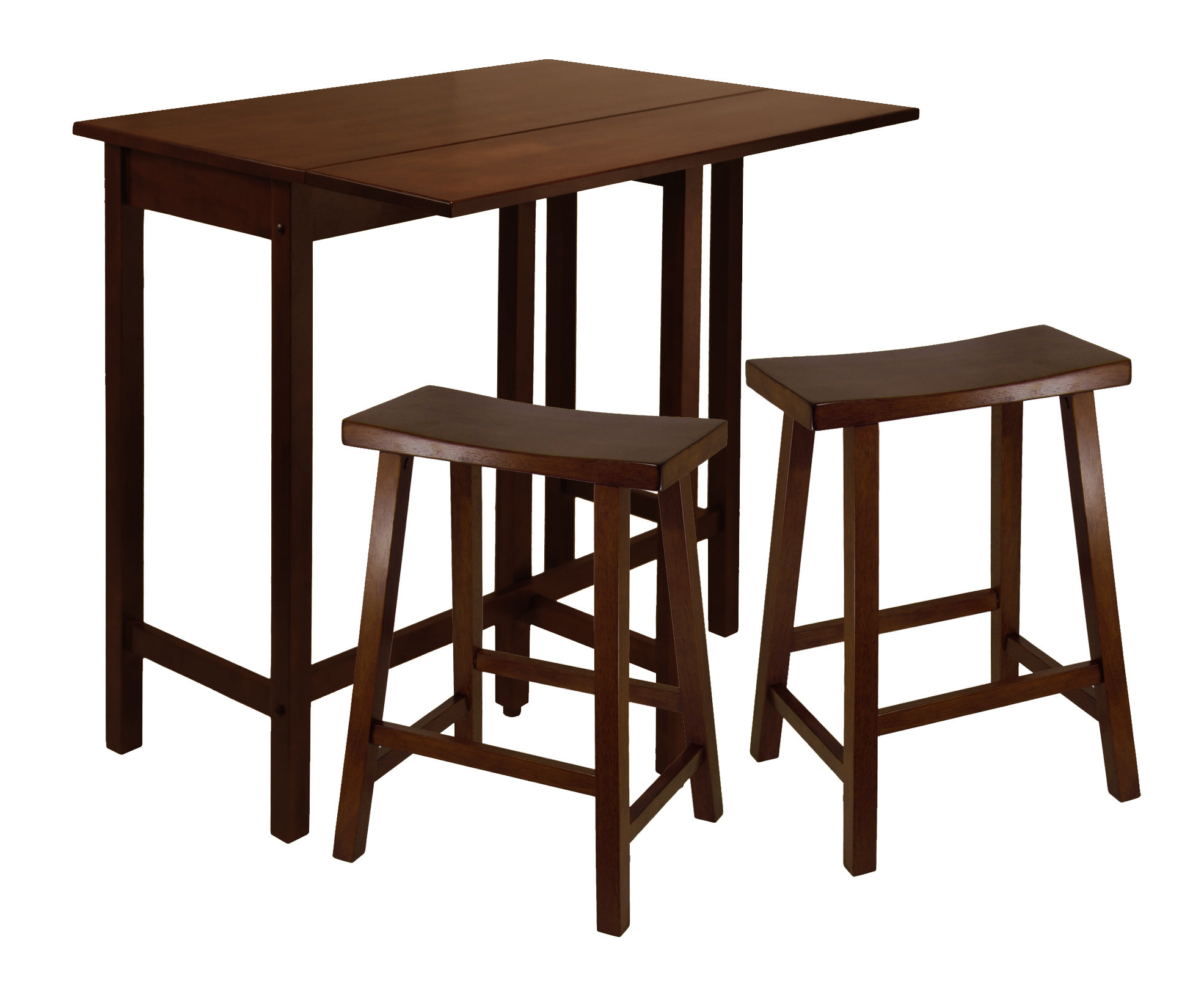 Best And Newest Bettencourt 3 Piece Counter Height Solid Wood Dining Sets Regarding Red Barrel Studio Bettencourt 3 Piece Pub Set (View 2 of 20)