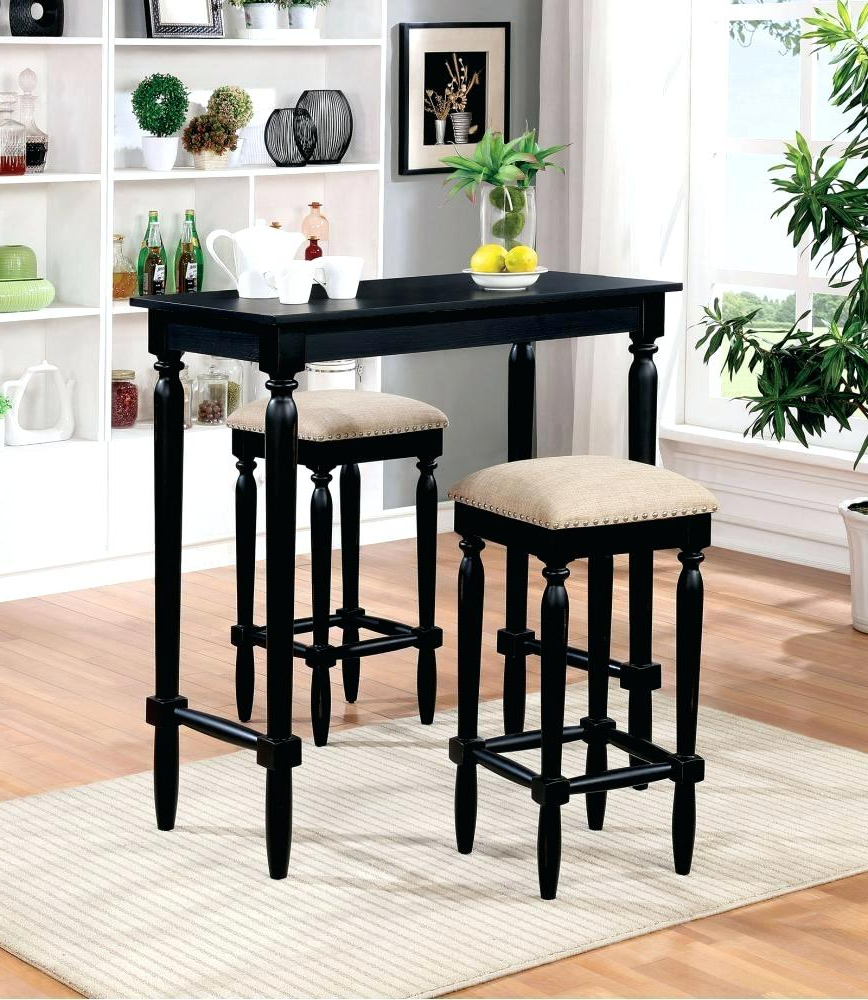 Best And Newest Crownover 3 Piece Bar Table Sets With Bar Table Sets – Redpulsetoken (View 4 of 20)