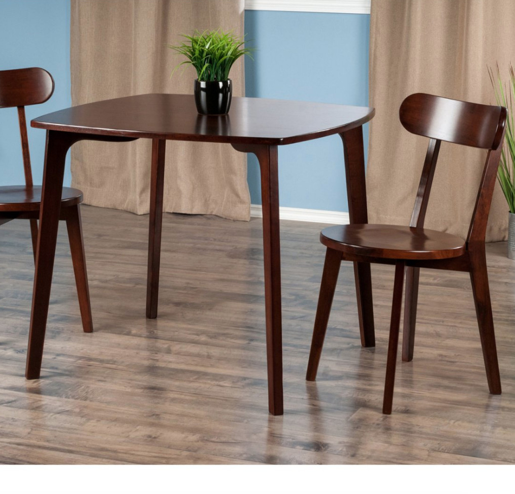 Best And Newest Dining Tables For Small Spaces – Small Spaces – Lonny Pertaining To Winsome 3 Piece Counter Height Dining Sets (View 19 of 20)