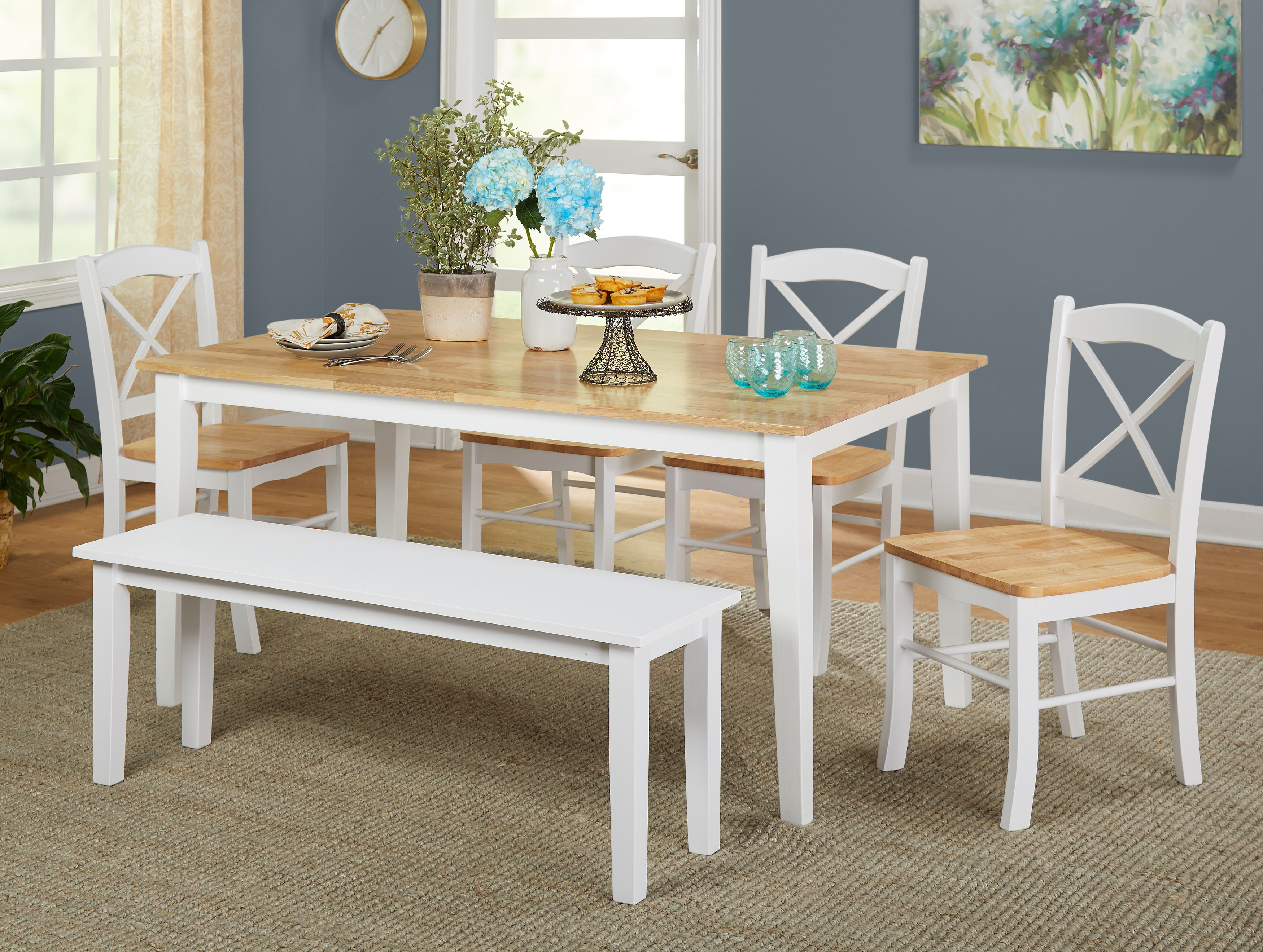 Birch Lane Pertaining To Osterman 6 Piece Extendable Dining Sets (Set Of 6) (Gallery 11 of 20)