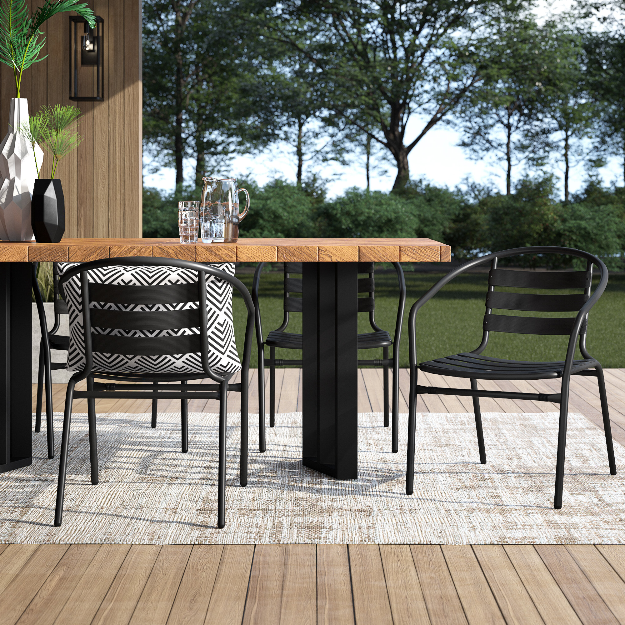 Birch Lane With Trendy Rossi 5 Piece Dining Sets (Gallery 12 of 20)
