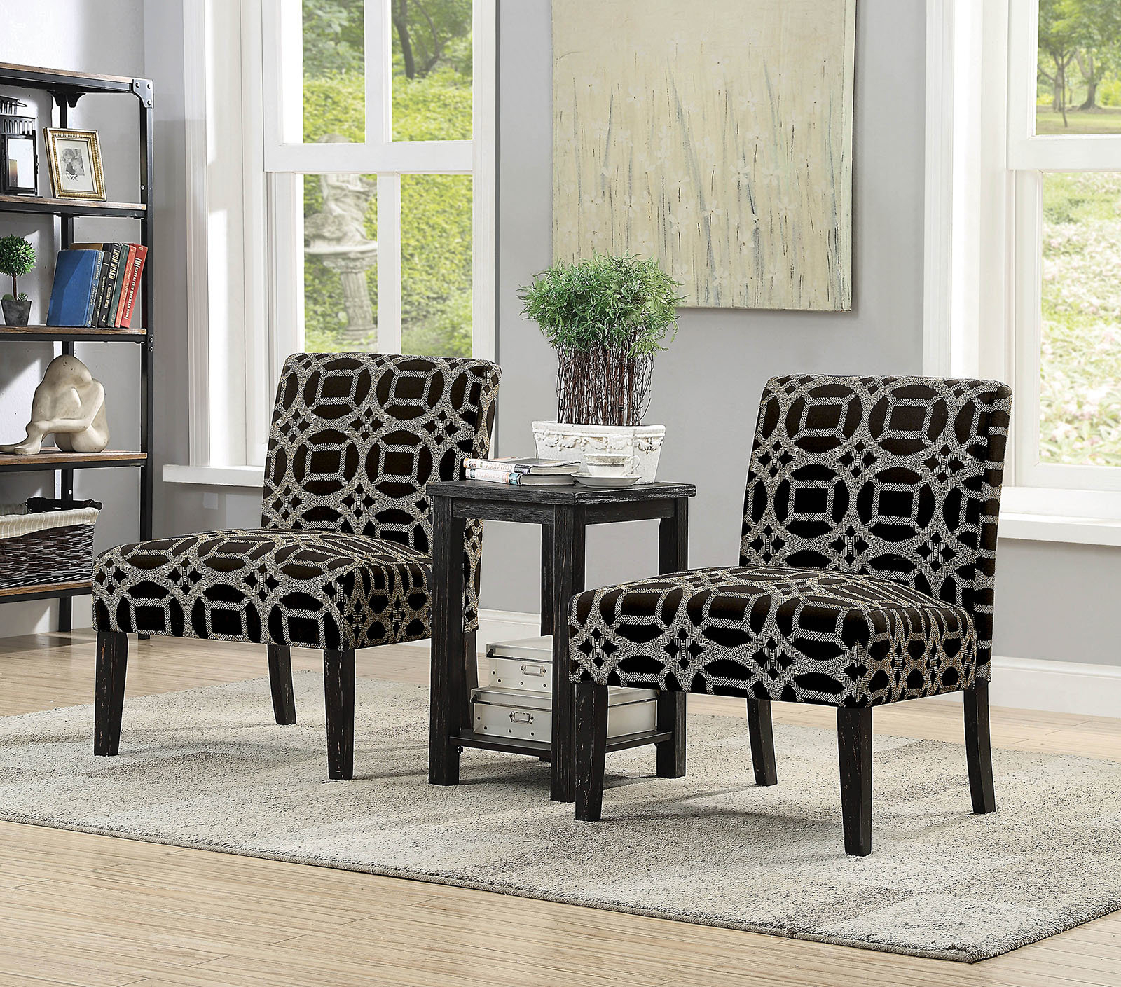 Boronda Transitional 3 Piece Dining Table Set Inside Fashionable Moorehead 3 Piece Counter Height Dining Sets (Gallery 13 of 20)