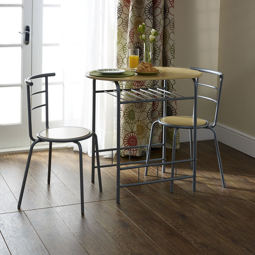 Breakfast Dining Set 3 Piece Within 2017 3 Piece Breakfast Dining Sets (Gallery 11 of 20)
