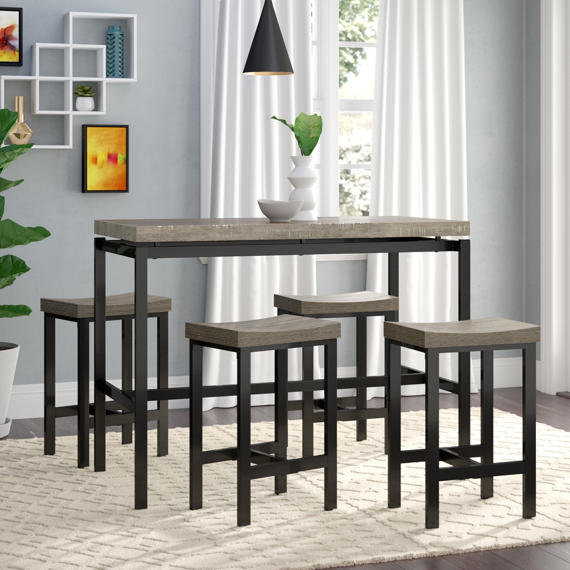 Bryson 5 Piece Dining Sets In Recent Beveridge 5 Piece Dining Set (Gallery 20 of 20)