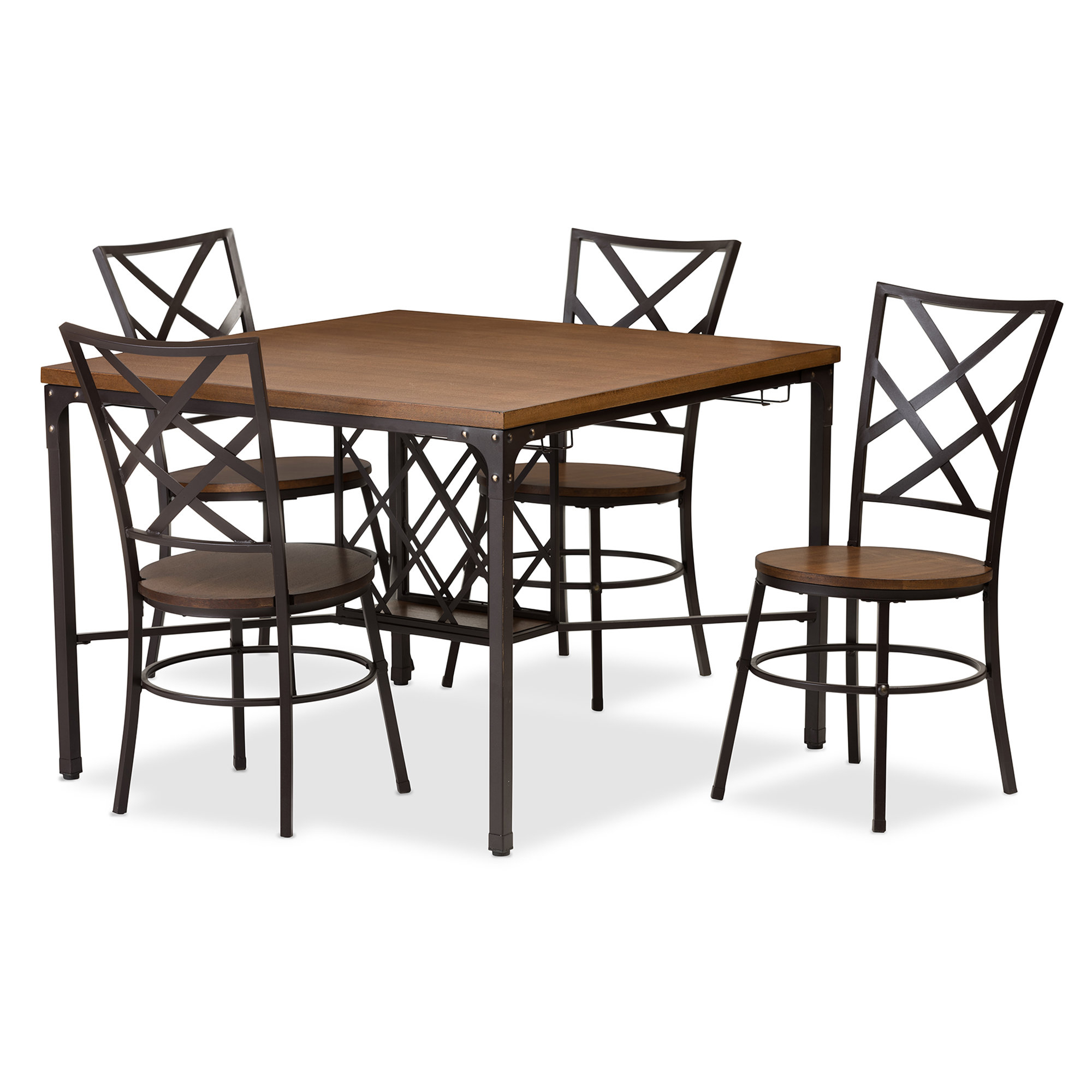Calla 5 Piece Dining Set Regarding Latest Stouferberg 5 Piece Dining Sets (Gallery 15 of 20)