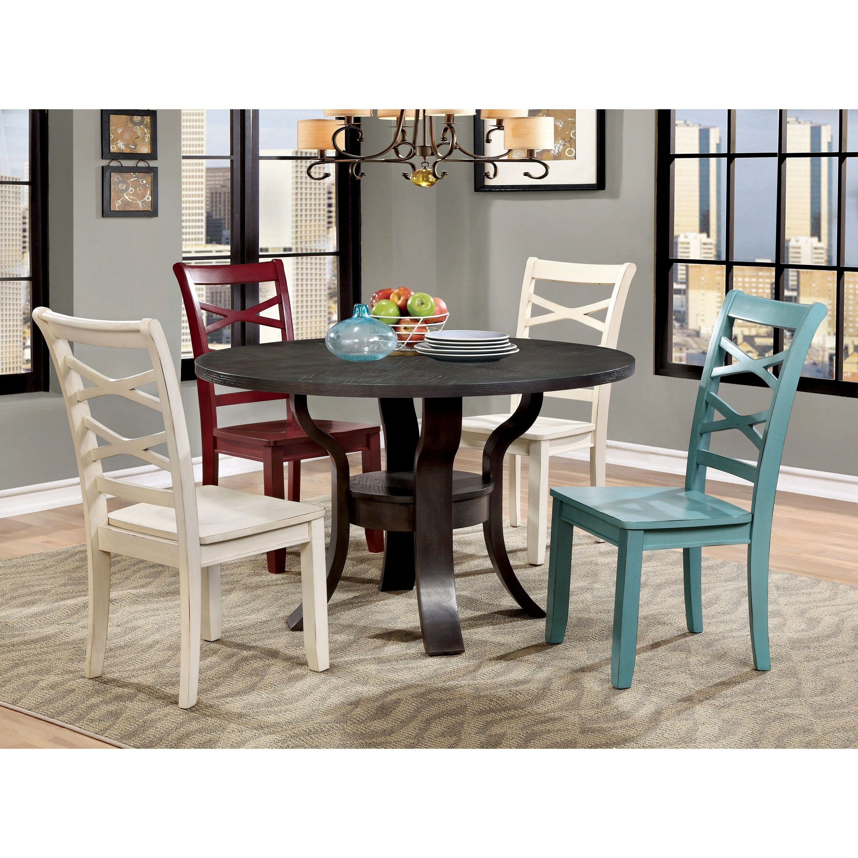 Cargo 5 Piece Dining Sets For Current Russell 5 Piece Dining Table Setfoa (View 5 of 20)