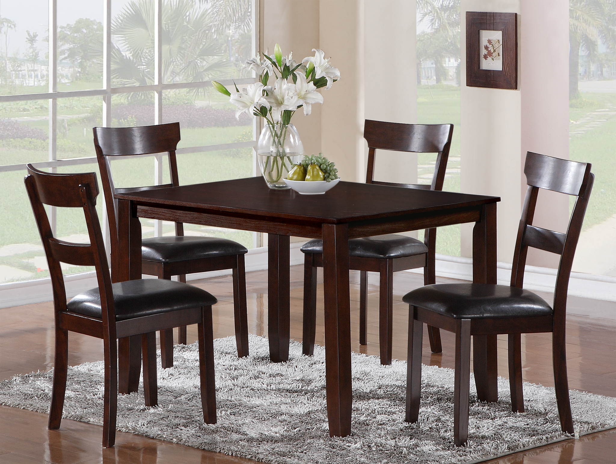 Cargo 5 Piece Dining Sets Inside Trendy Henderson Dining Collection (Gallery 6 of 20)