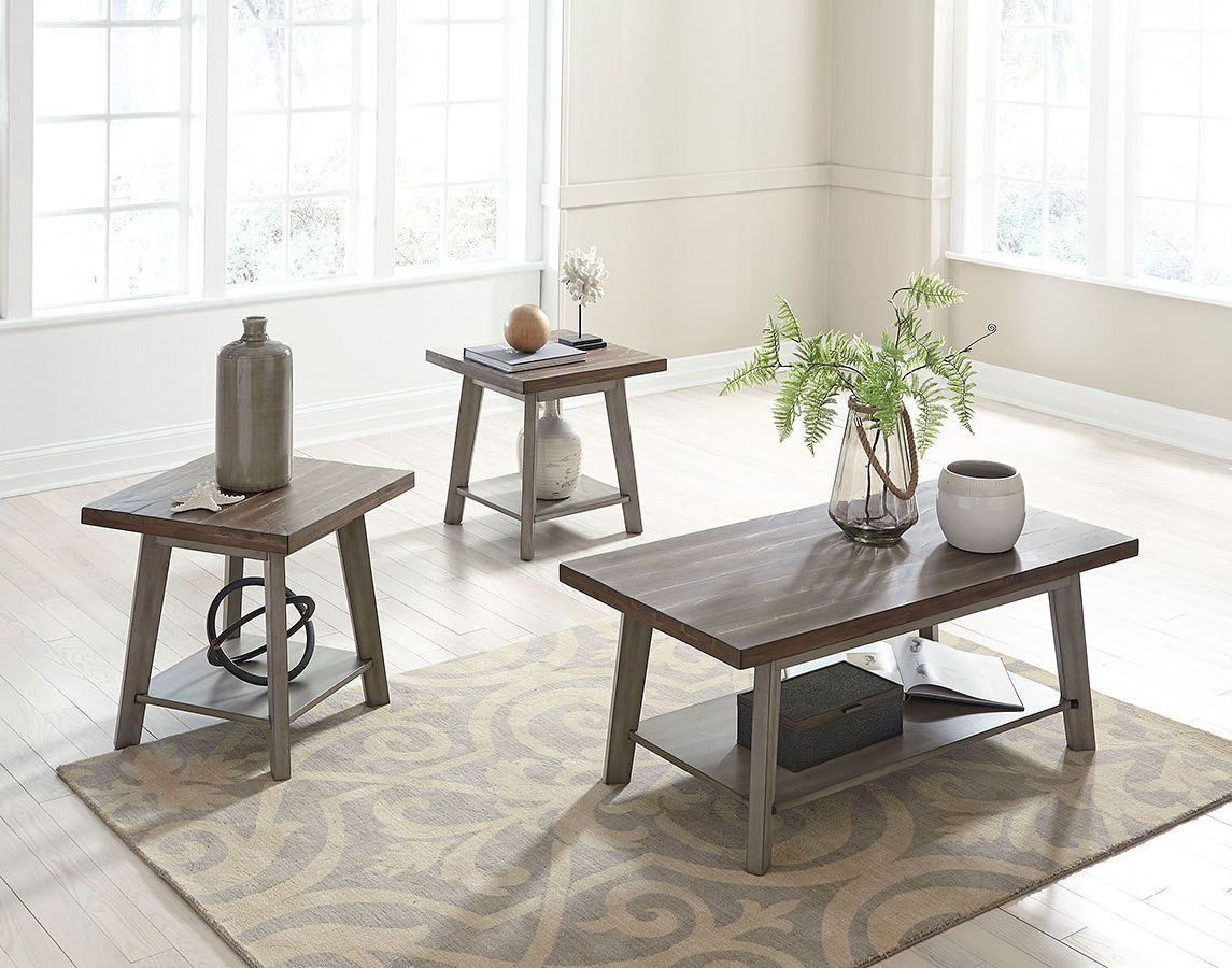 Chelmsford 3 Piece Dining Sets In Best And Newest Fairhaven 3 Piece Occasional Table Set (View 1 of 20)