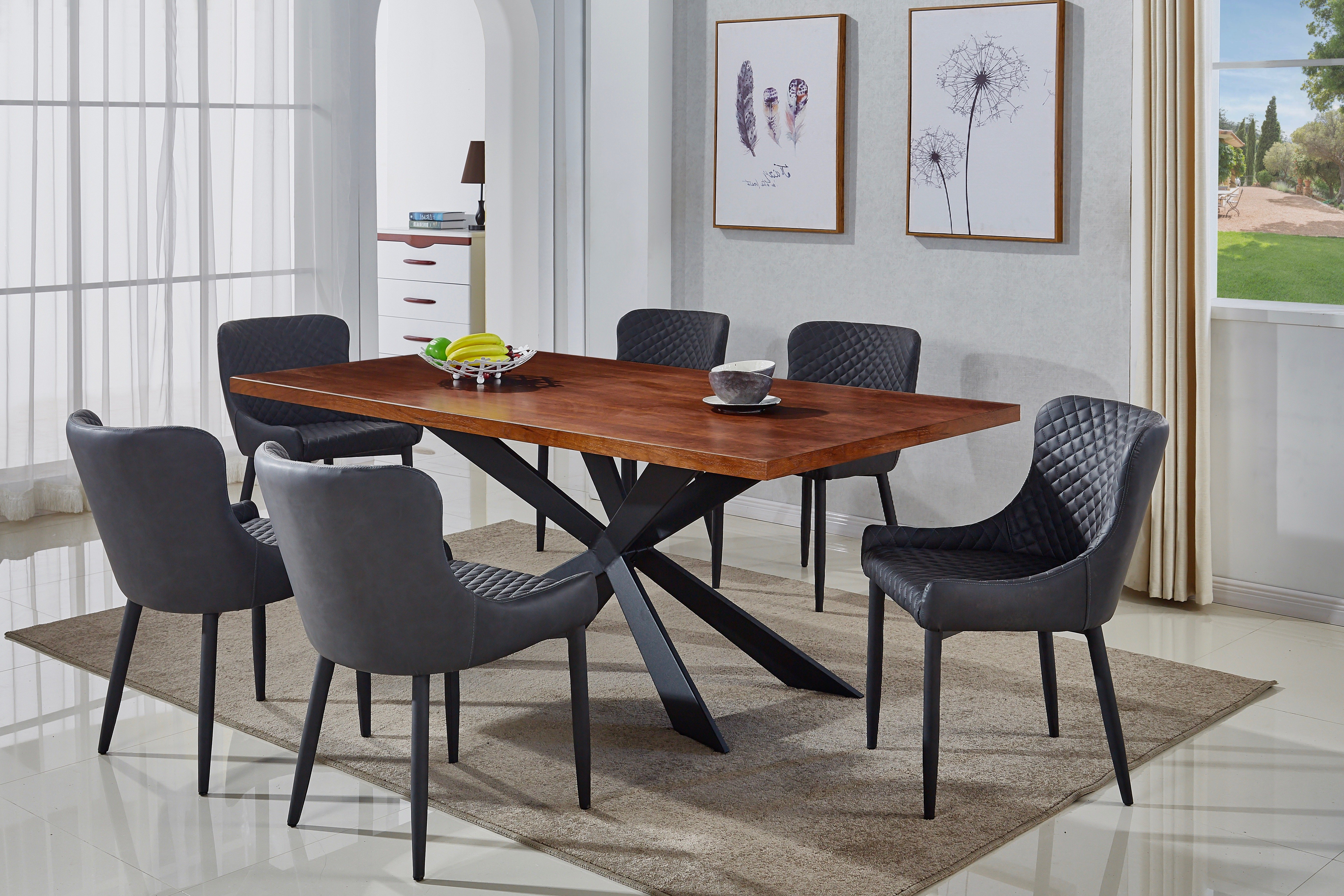 Chelmsford 3 Piece Dining Sets Pertaining To Preferred Dupont 7 Piece Dining Set (View 4 of 20)