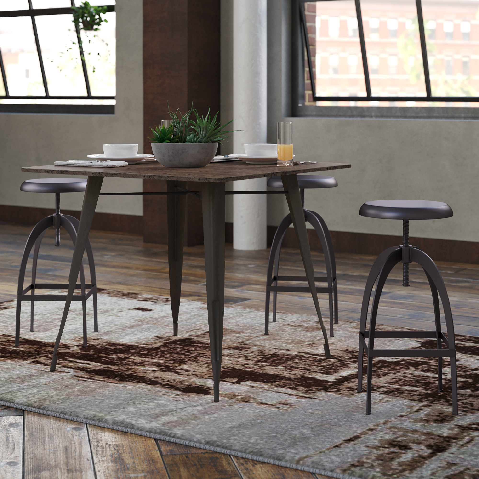 Claremont Dining Table With Most Popular Weatherholt Dining Tables (View 12 of 20)