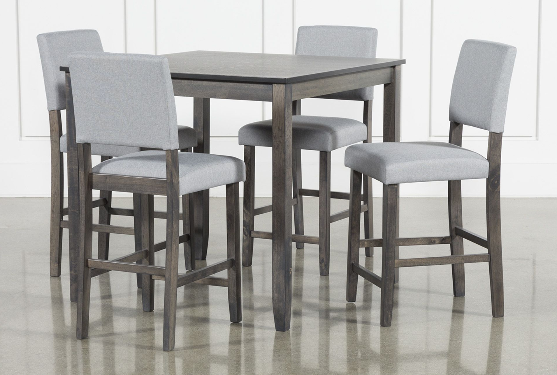 Counter Height In Jarrod 5 Piece Dining Sets (View 4 of 20)