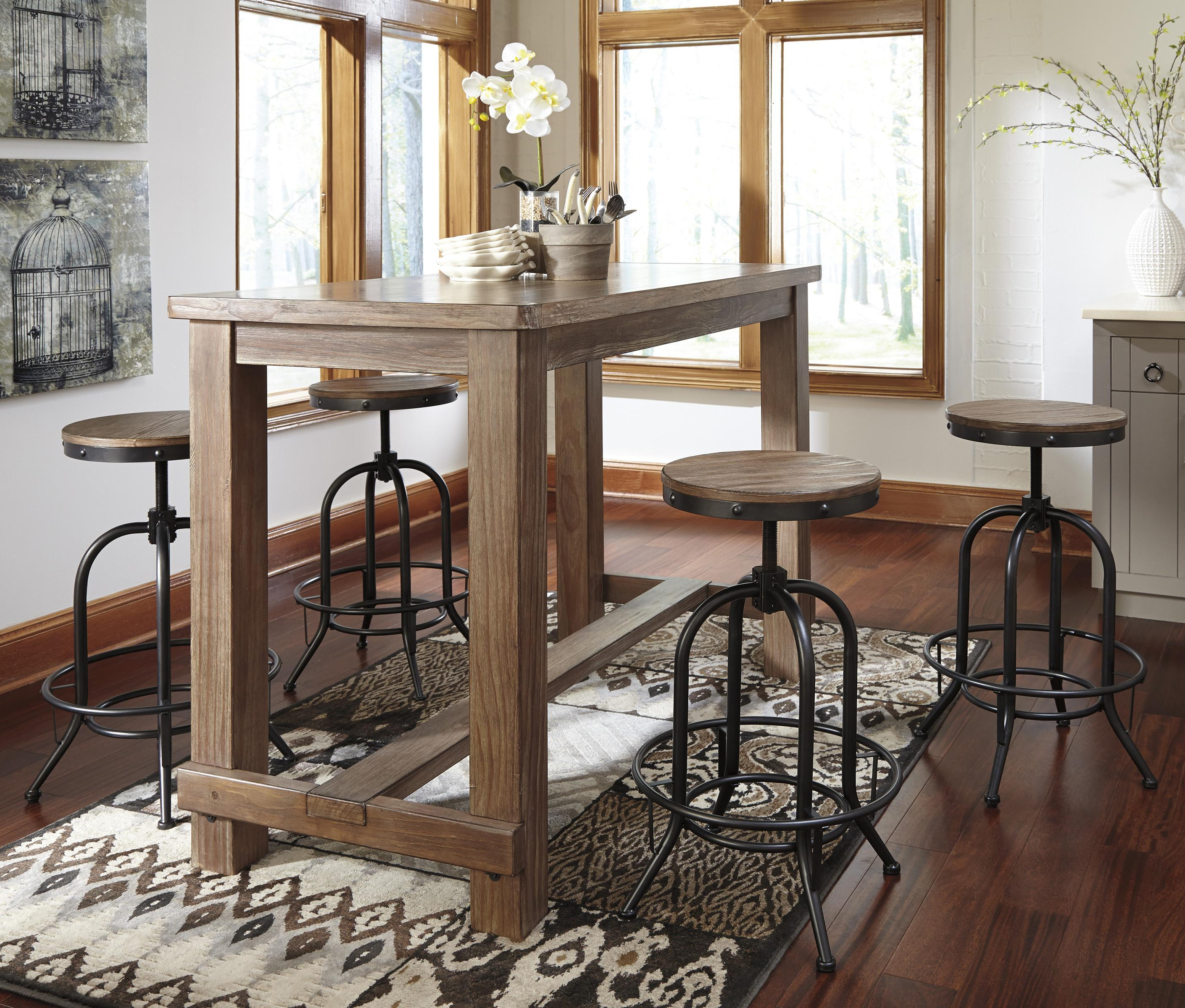 Current Bar Table Set – Summervilleaugusta In Crownover 3 Piece Bar Table Sets (Gallery 4 of 20)