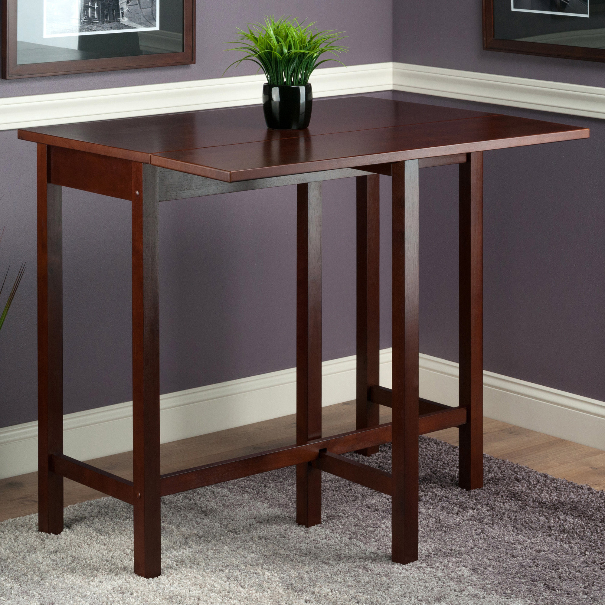 Featured Photo of Bettencourt 3 Piece Counter Height Solid Wood Dining Sets