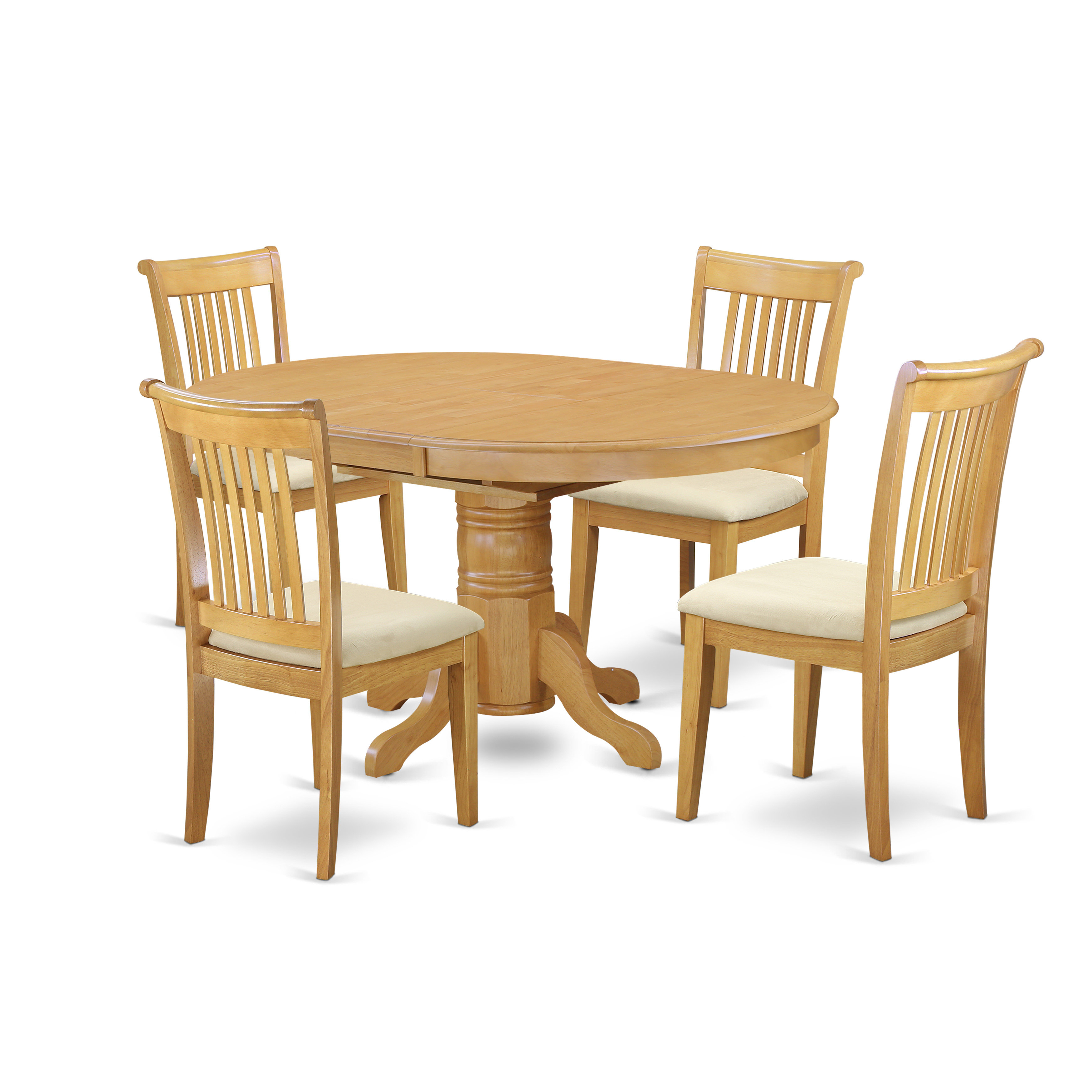 Current West Hill Family Table 3 Piece Dining Sets Inside Emmaline 5 Piece Solid Wood Dining Set (View 18 of 20)