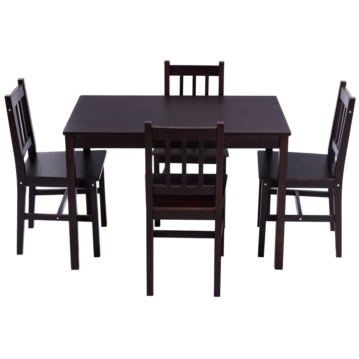 Current Winston Porter Sundberg 5 Piece Wood Dining Chair And Table Set With Sundberg 5 Piece Solid Wood Dining Sets (View 3 of 20)