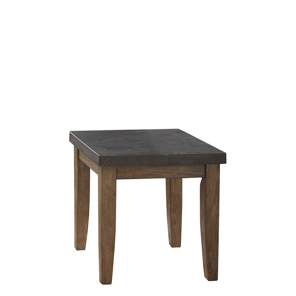 Debby Gray End Table Inside Preferred Debby Small Space 3 Piece Dining Sets (View 13 of 20)