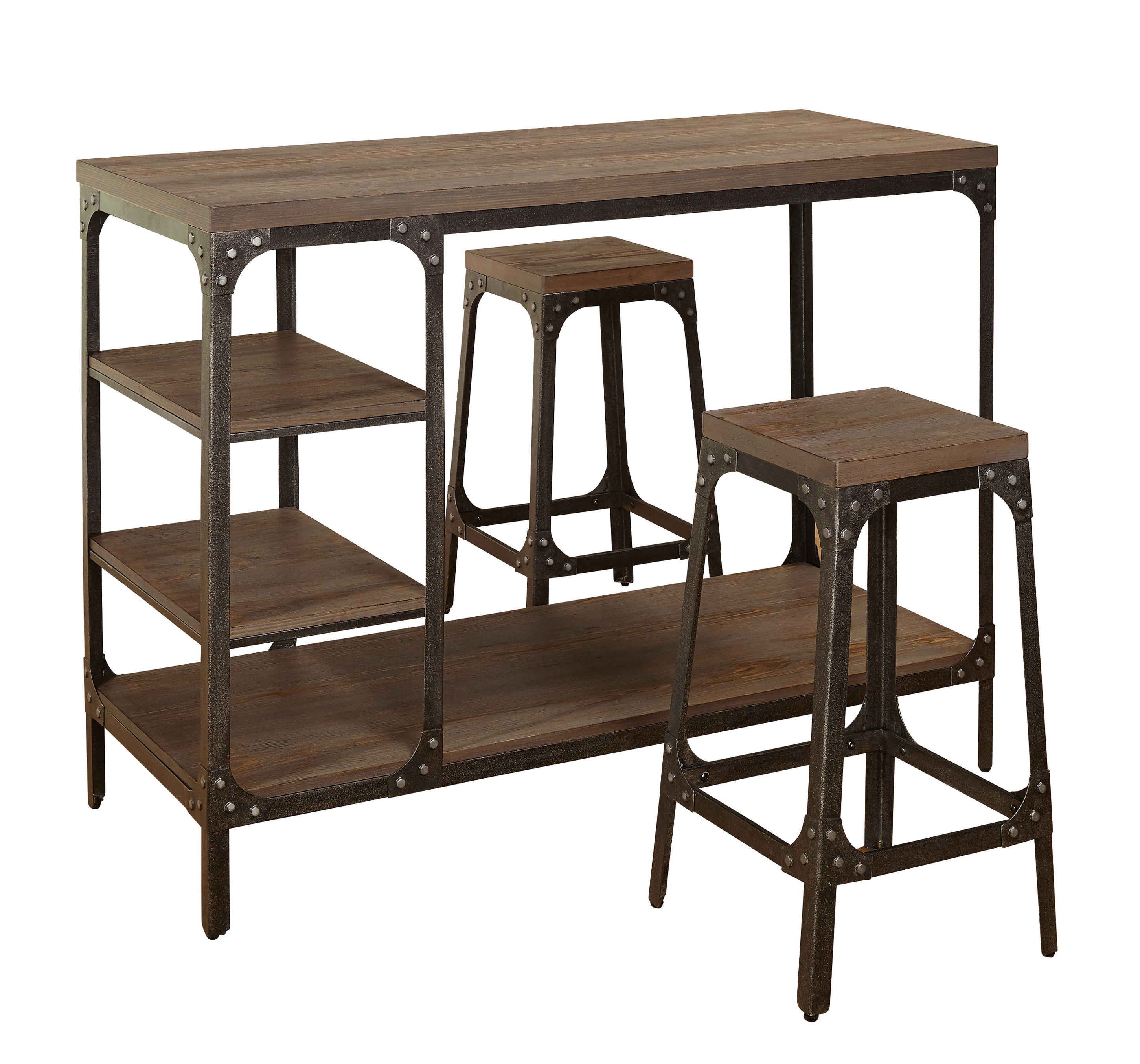 Debby Small Space 3 Piece Dining Sets Inside Most Recent Terence 3 Piece Breakfast Nook Dining Set (View 16 of 20)
