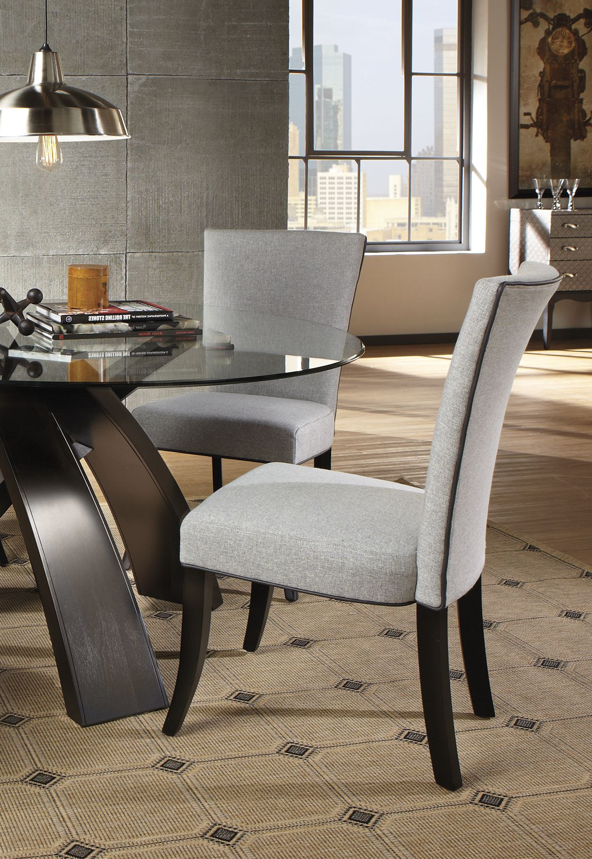 Delmar 5 Piece Dining Sets With Regard To Current Invigorate An Uninspired Dining Set With A Table That Will Catch (View 7 of 20)