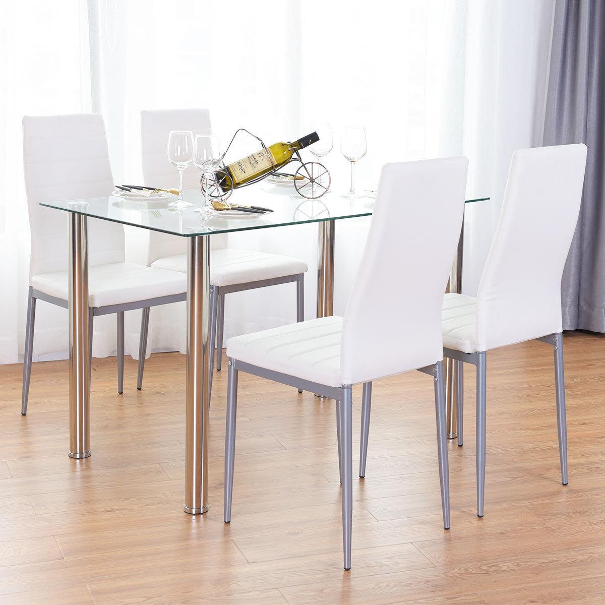 Details About Orren Ellis Travon 5 Piece Dining Set Within Best And Newest Travon 5 Piece Dining Sets (View 2 of 20)
