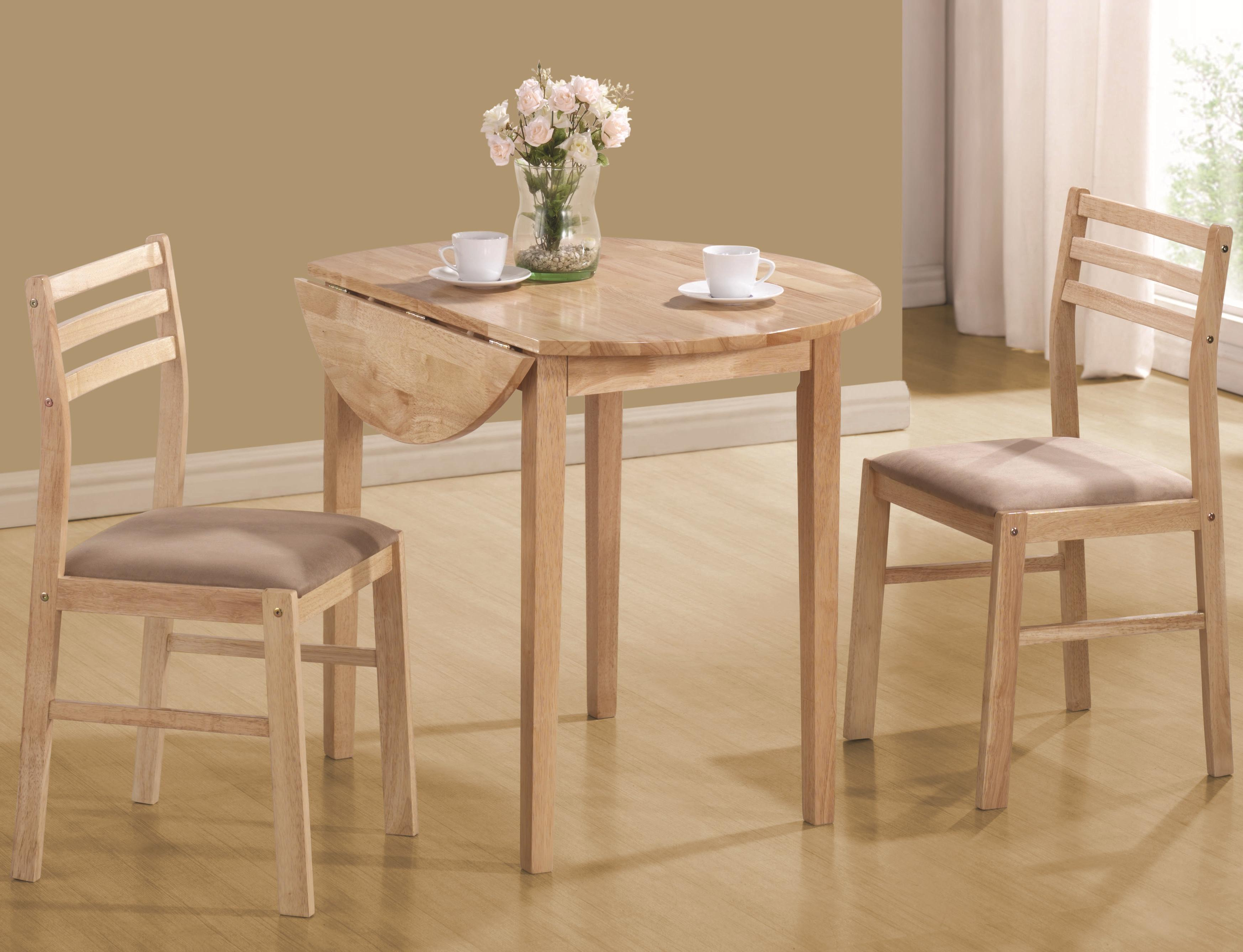 Dinettes Casual 3 Piece Table & Chair Setcoaster At Value City Furniture Pertaining To Best And Newest 3 Piece Dining Sets (View 18 of 20)