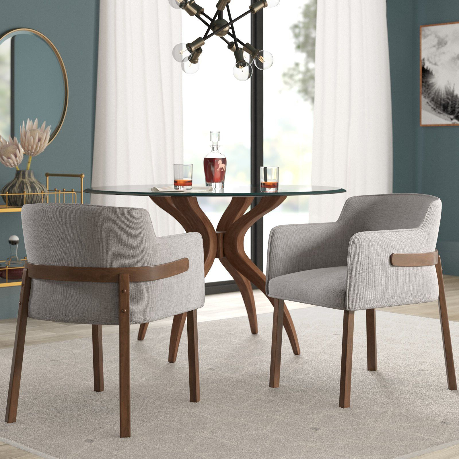 Dining Chairs Pertaining To Mukai 5 Piece Dining Sets (View 6 of 20)
