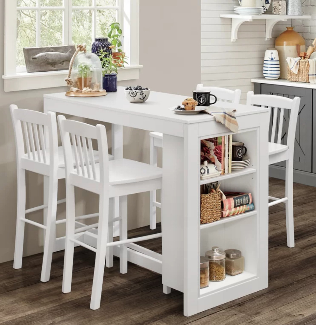 Dining Tables For Small Spaces – Small Spaces – Lonny In Preferred Taulbee 5 Piece Dining Sets (View 5 of 20)