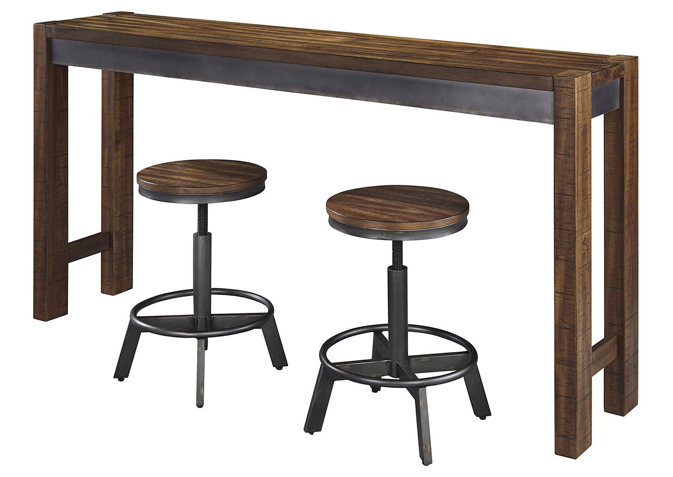 Dream Decor – Furniture – Springfield – Ma Torjin Two Tone Brown Regarding Most Up To Date Springfield 3 Piece Dining Sets (View 20 of 20)