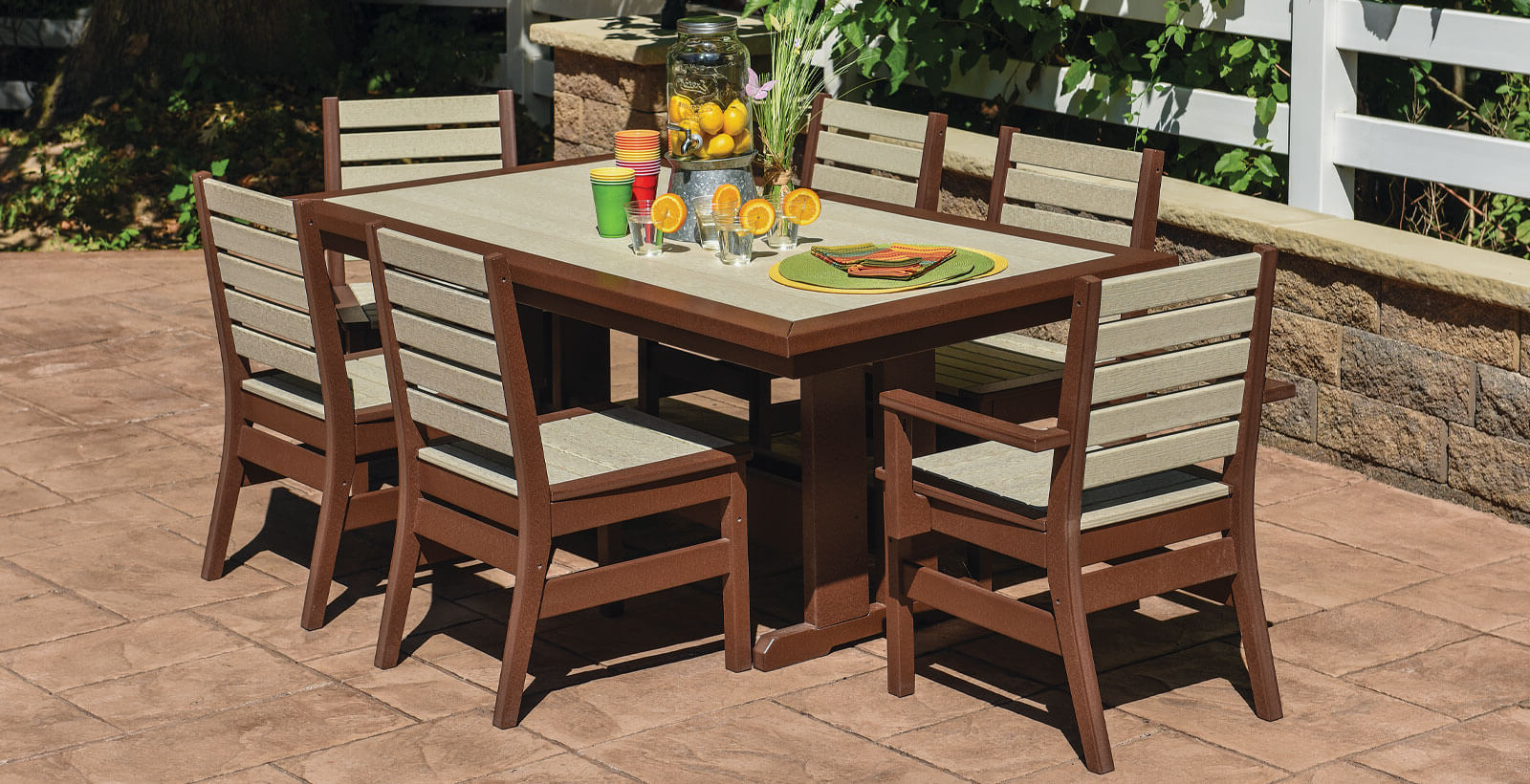 E.c. Woods Pertaining To Trendy Saintcroix 3 Piece Dining Sets (Gallery 14 of 20)