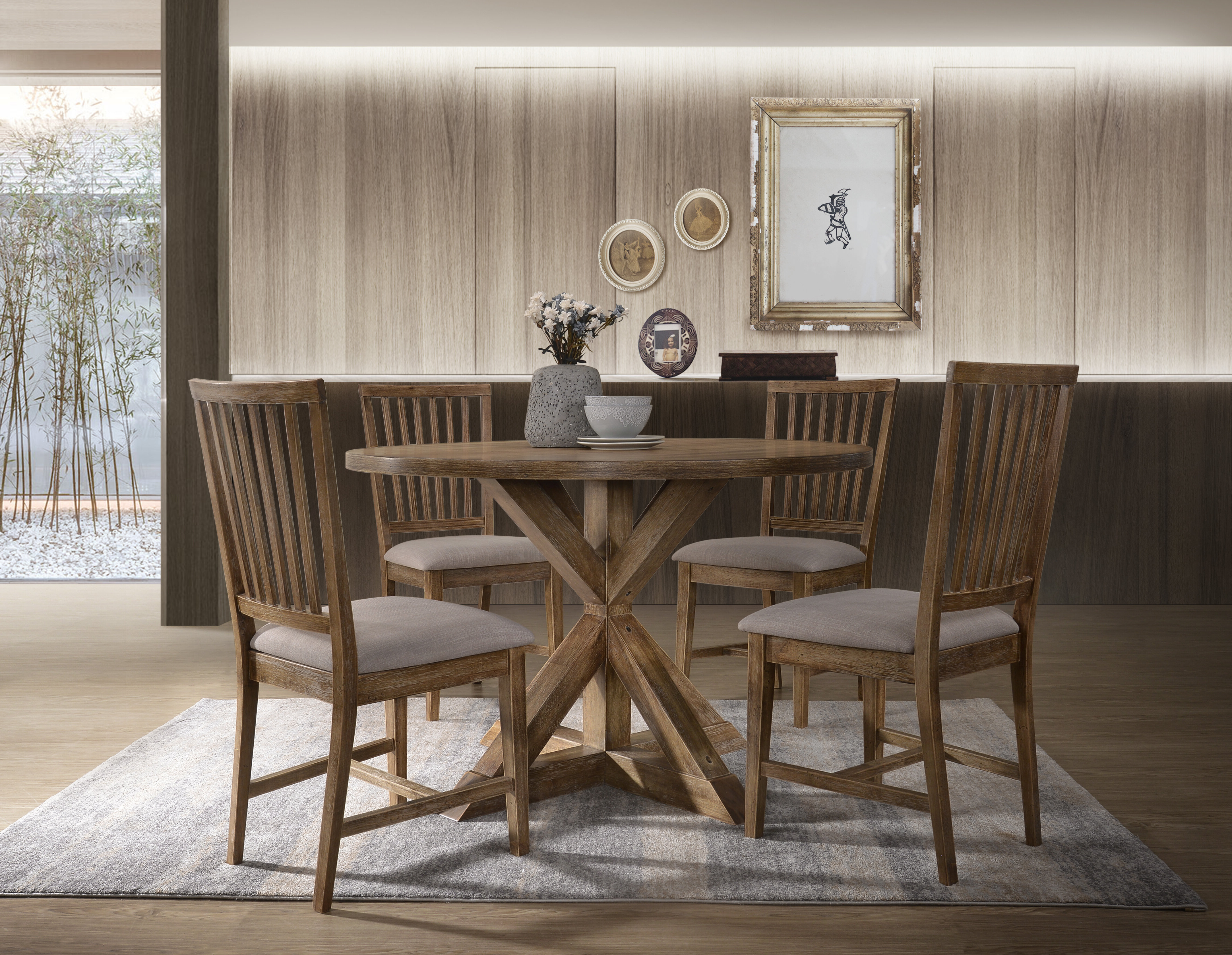 Emmeline 5 Piece Breakfast Nook Dining Sets Within Most Recently Released Guarani 5 Piece Dining Set (View 5 of 20)