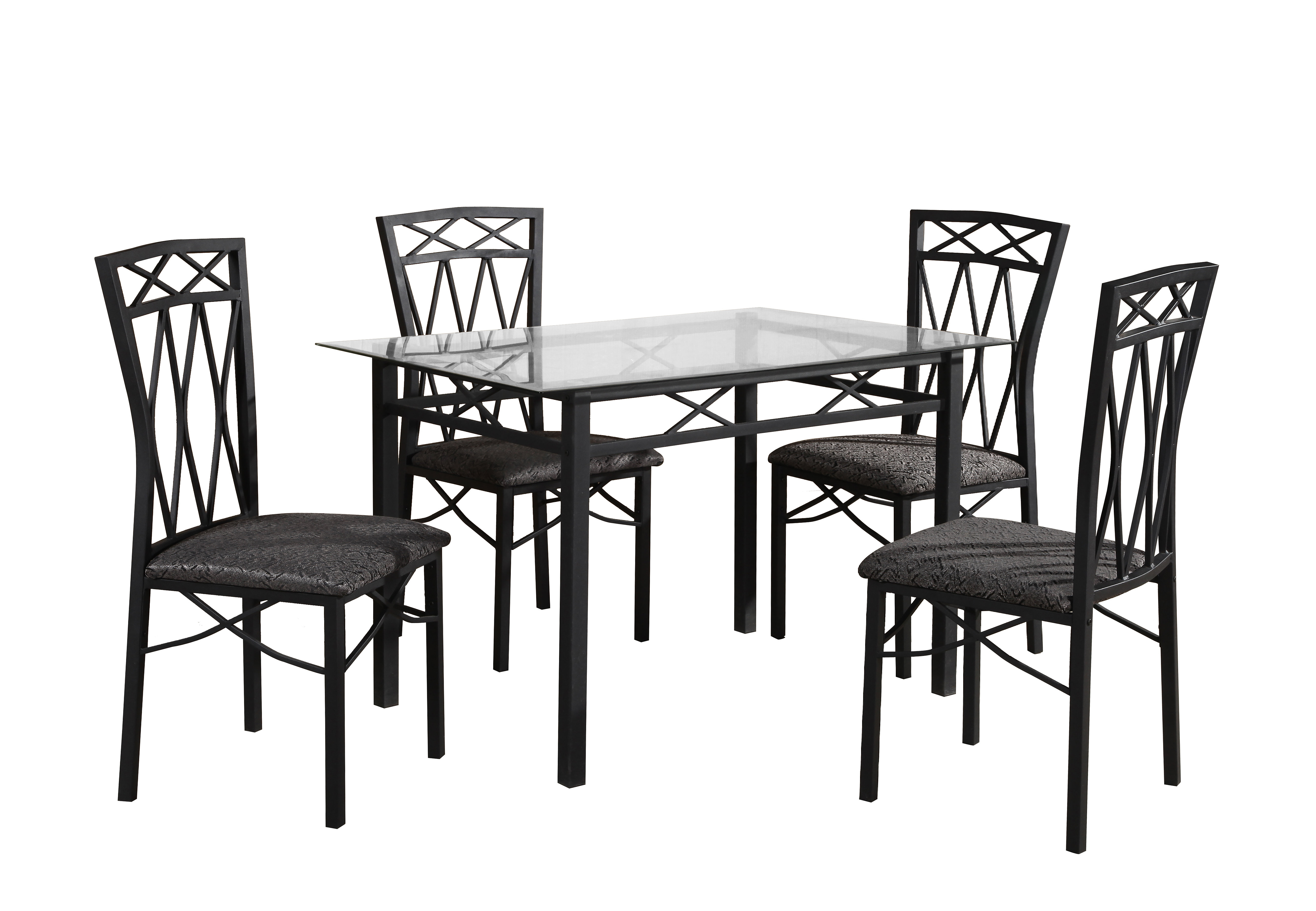 Ephraim 5 Piece Dining Sets For Widely Used Nessler 5 Piece Dining Set (View 2 of 20)