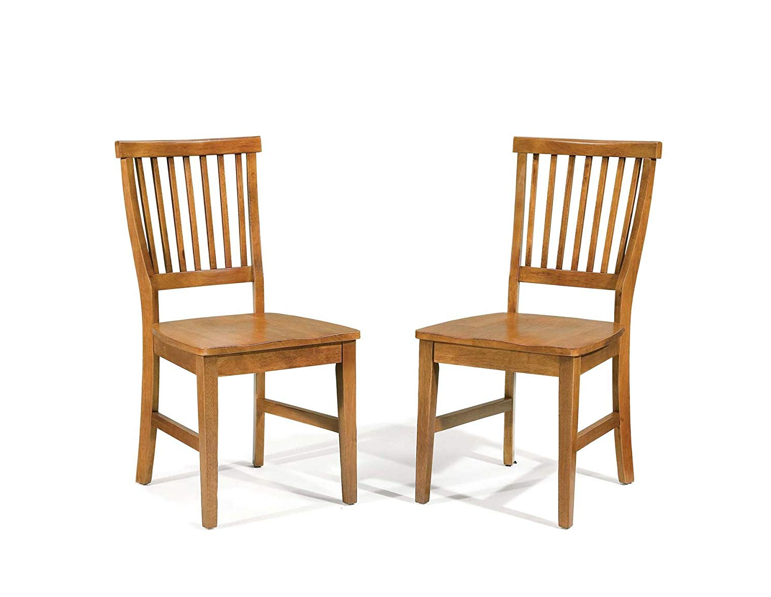 Evellen 5 Piece Solid Wood Dining Sets (set Of 5) In Preferred Home Style 5180 802 Arts And Crafts Dining Chair, Cottage Oak Finish (View 7 of 20)