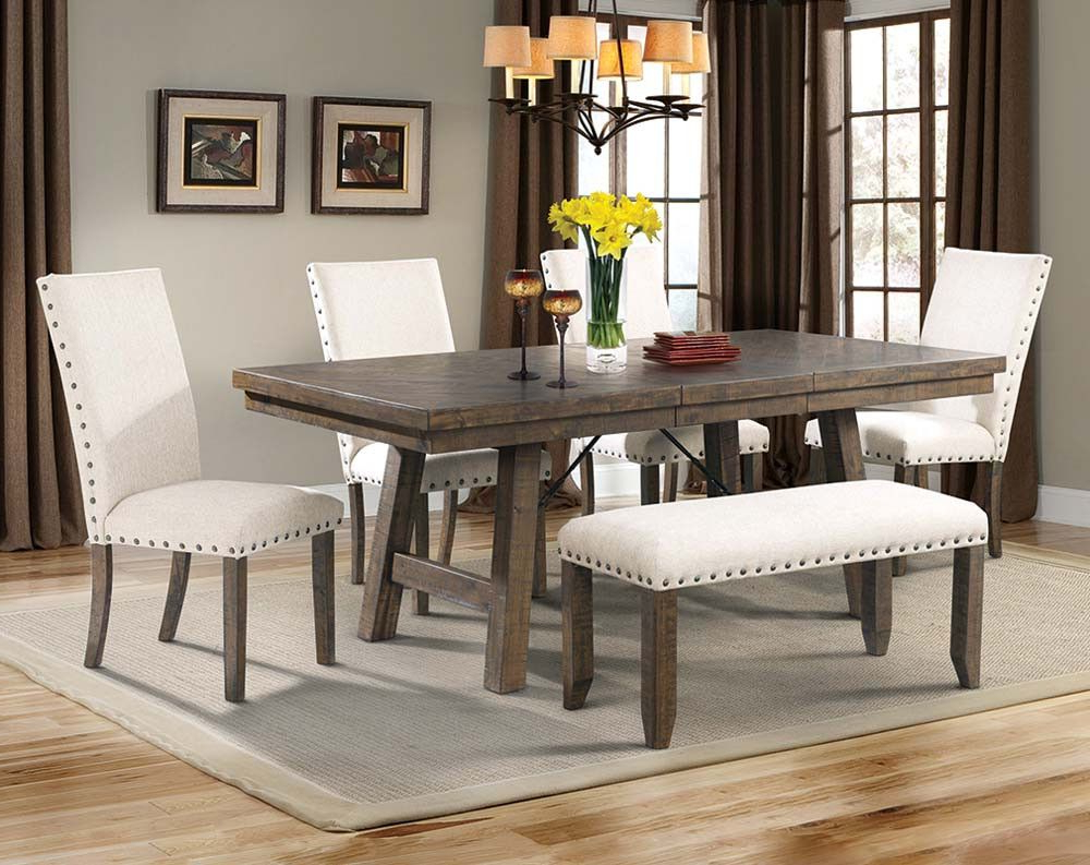 Farmhouse Table With (View 11 of 20)