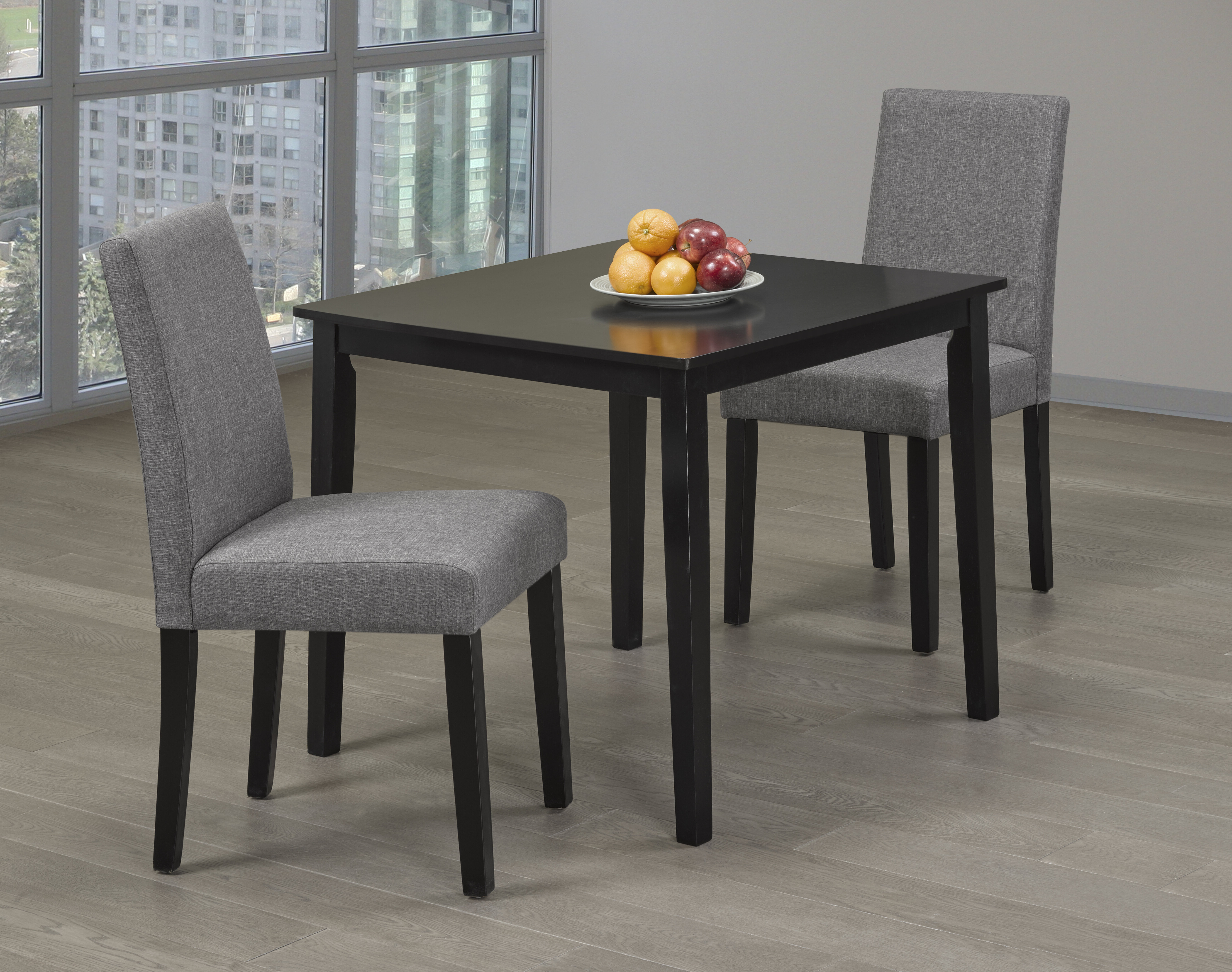 Fashionable Baillie 3 Piece Dining Sets Throughout Genebern 3 Piece Dining Set (View 10 of 20)