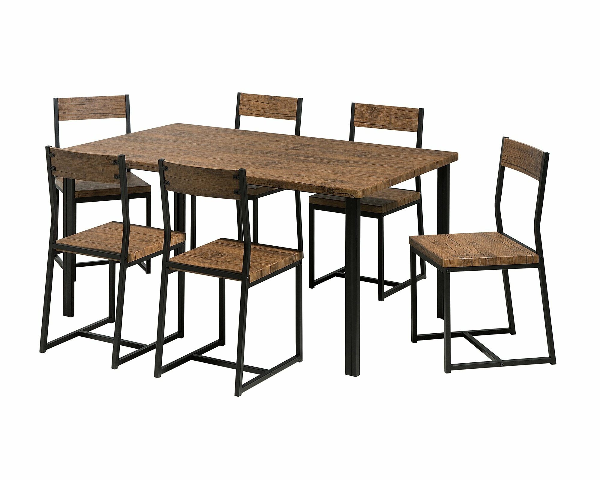 Fashionable Castellanos Modern 5 Piece Counter Height Dining Sets Throughout Montezuma 7 Piece Dining Set (View 11 of 20)