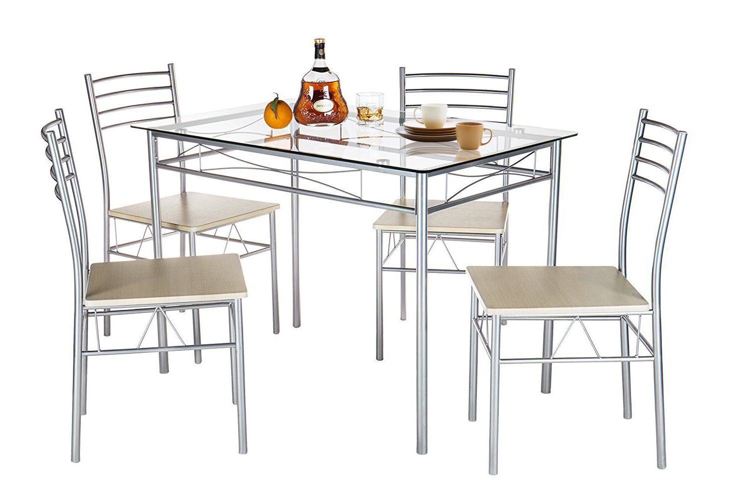 Featured Photo of Liles 5 Piece Breakfast Nook Dining Sets