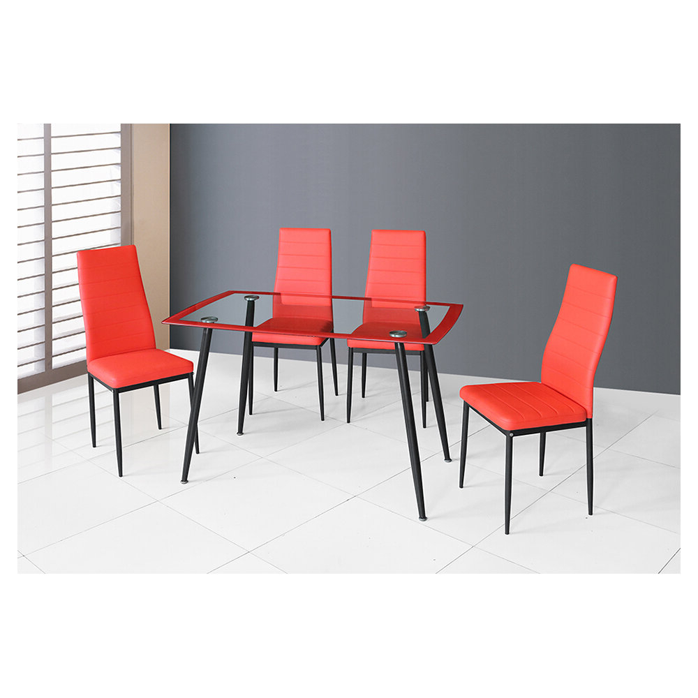 Featured Photo of Linette 5 Piece Dining Table Sets
