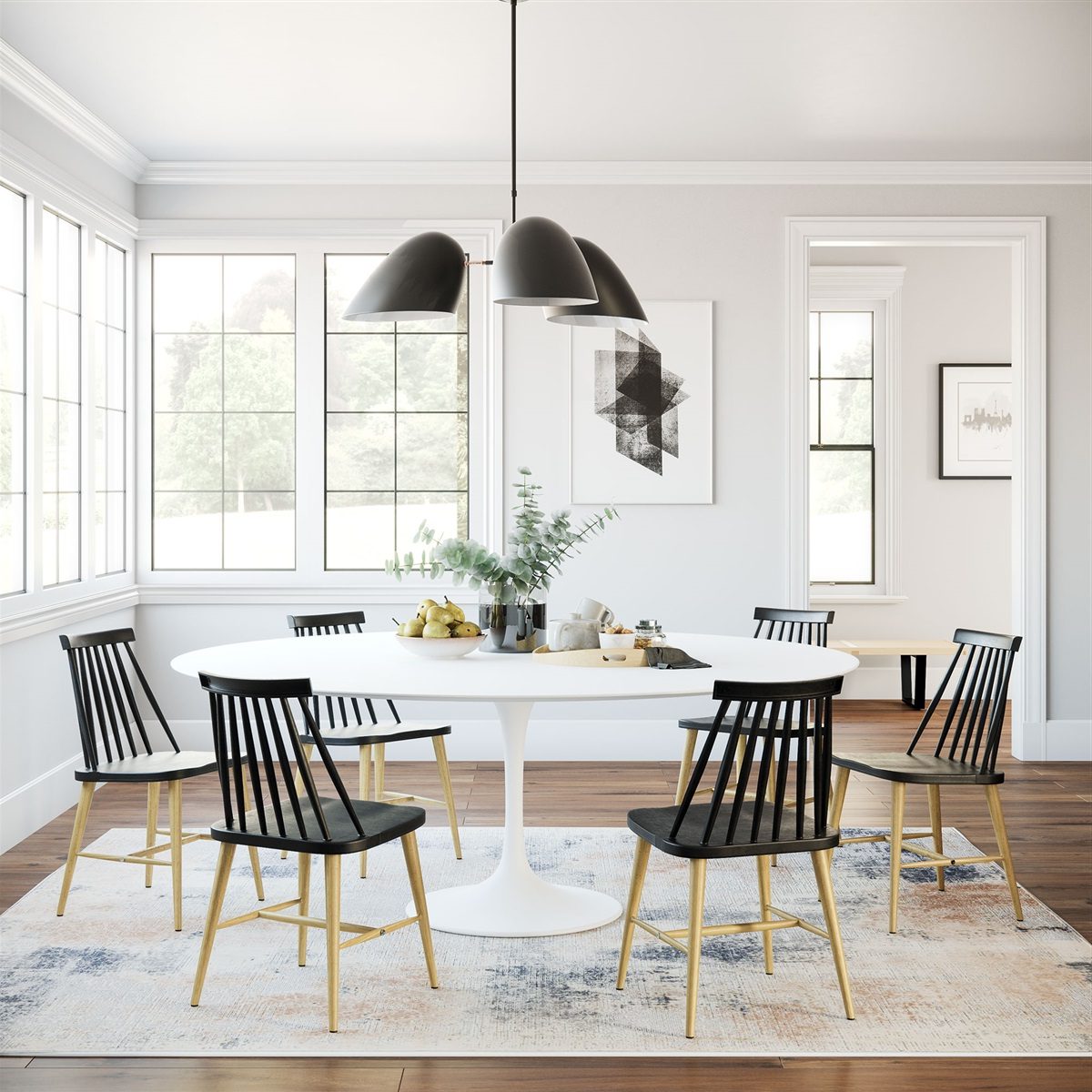 Fashionable Saarinen Tulip Oval Dining Table Throughout Cincinnati 3 Piece Dining Sets (Gallery 14 of 20)