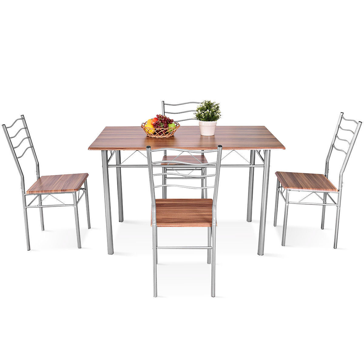 Fashionable Taulbee 5 Piece Dining Sets Within Details About Winston Porter Miskell 5 Piece Dining Set (View 7 of 20)