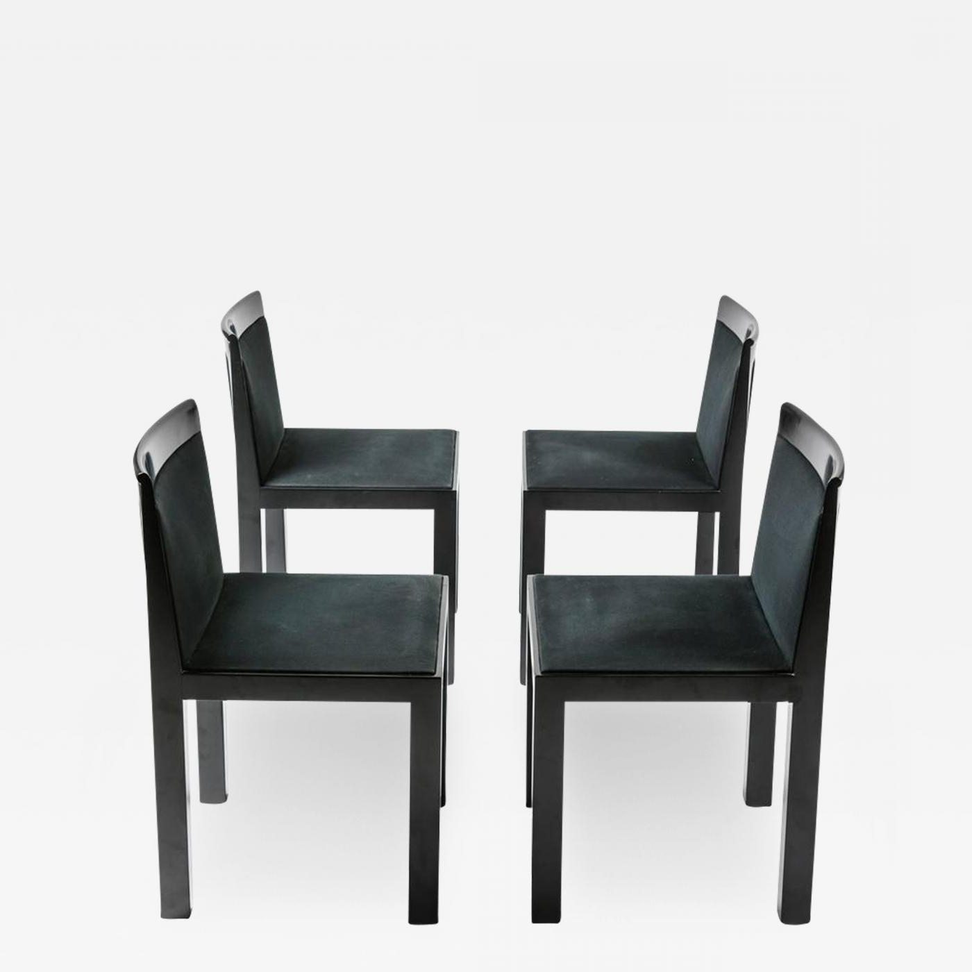 "Favorite Alberto Rossi – Set Of Four ""teatro"" Chairsaldo Rossi For Molteni Throughout Rossi 5 Piece Dining Sets (Gallery 8 of 20)"