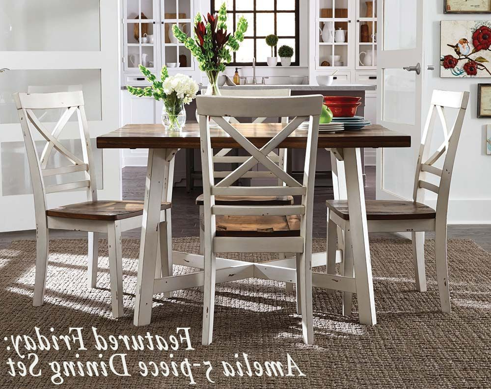 Favorite Cargo 5 Piece Dining Sets Within The Amelia 5 Piece Dining Set Is A Versatile Set With Smooth Clean (Gallery 4 of 20)