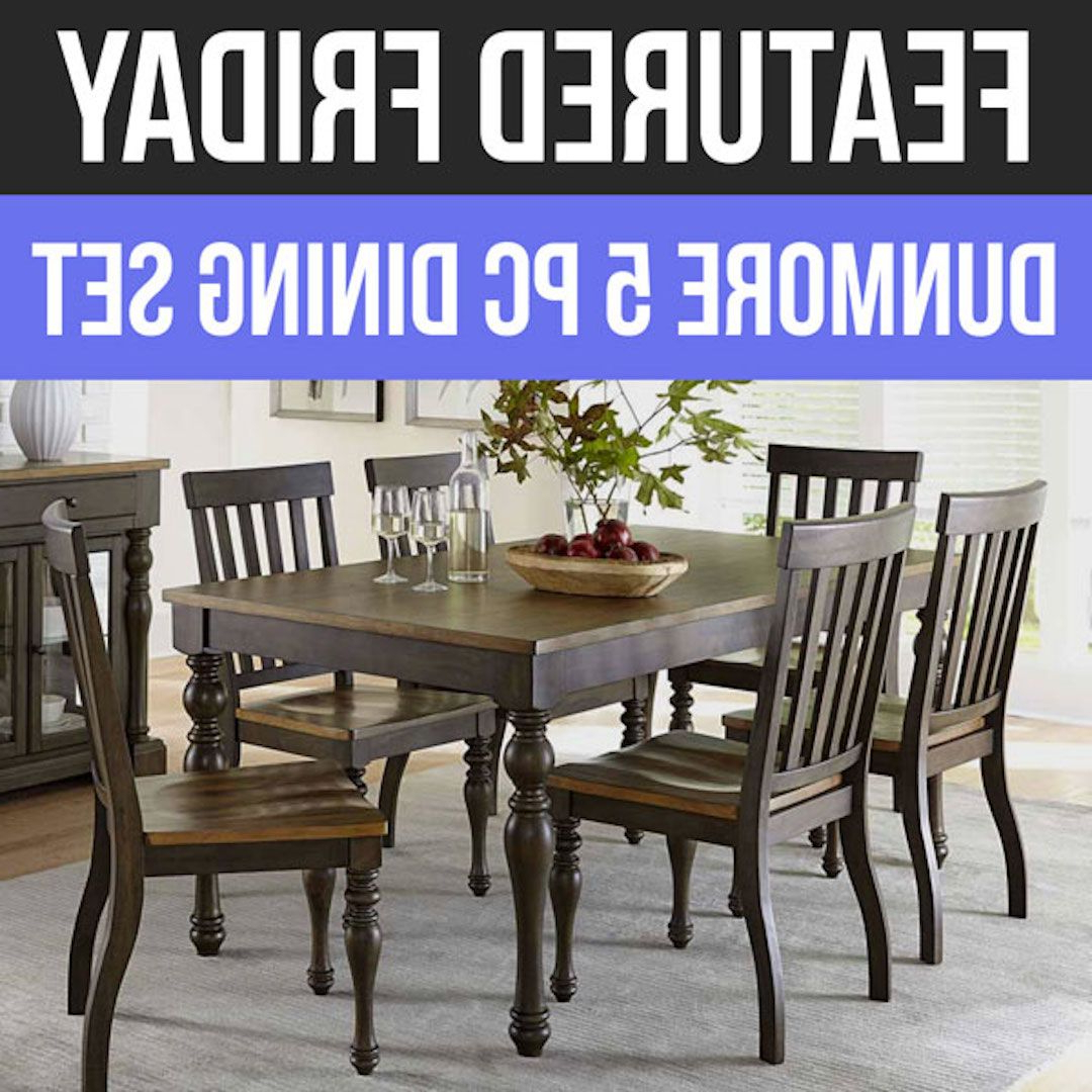 Featured Within Cargo 5 Piece Dining Sets (Gallery 19 of 20)