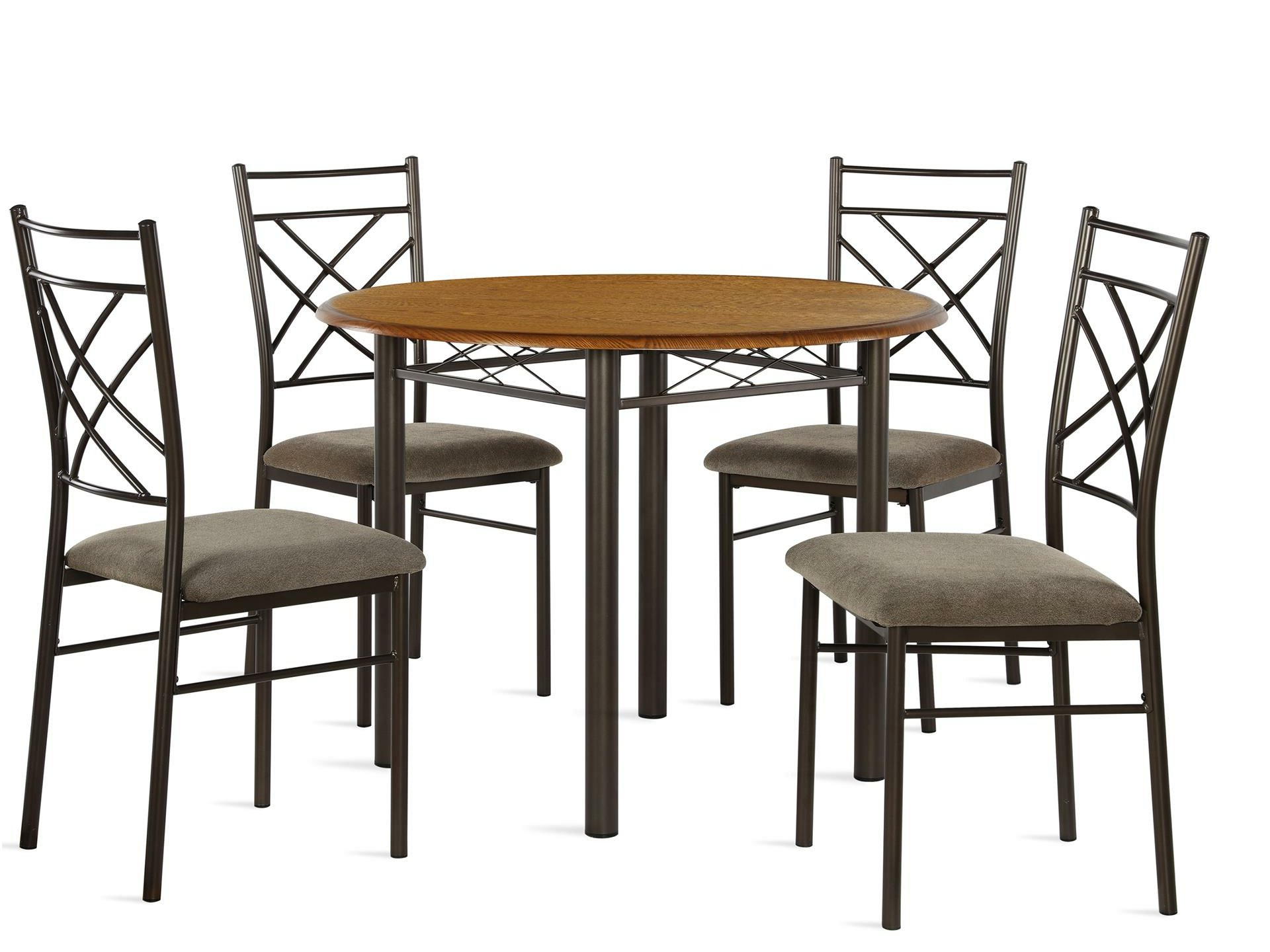 Ganya 5 Piece Dining Sets Intended For Well Known Janiya 5 Piece Dining Set (View 9 of 20)