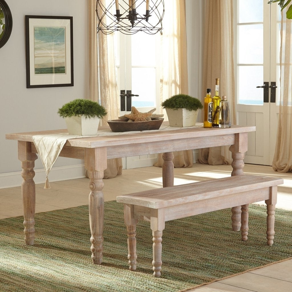 Grain Wood Furniture Valerie 63 Inch Solid Wood Dining Table Pertaining To Most Recent Evellen 5 Piece Solid Wood Dining Sets (set Of 5) (View 13 of 20)