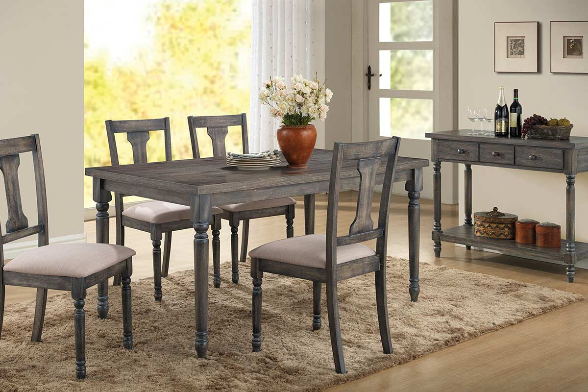 Gray Dining Table Set 2019 Middleport Piece Dining Set Throughout Well Liked Middleport 5 Piece Dining Sets (View 16 of 20)