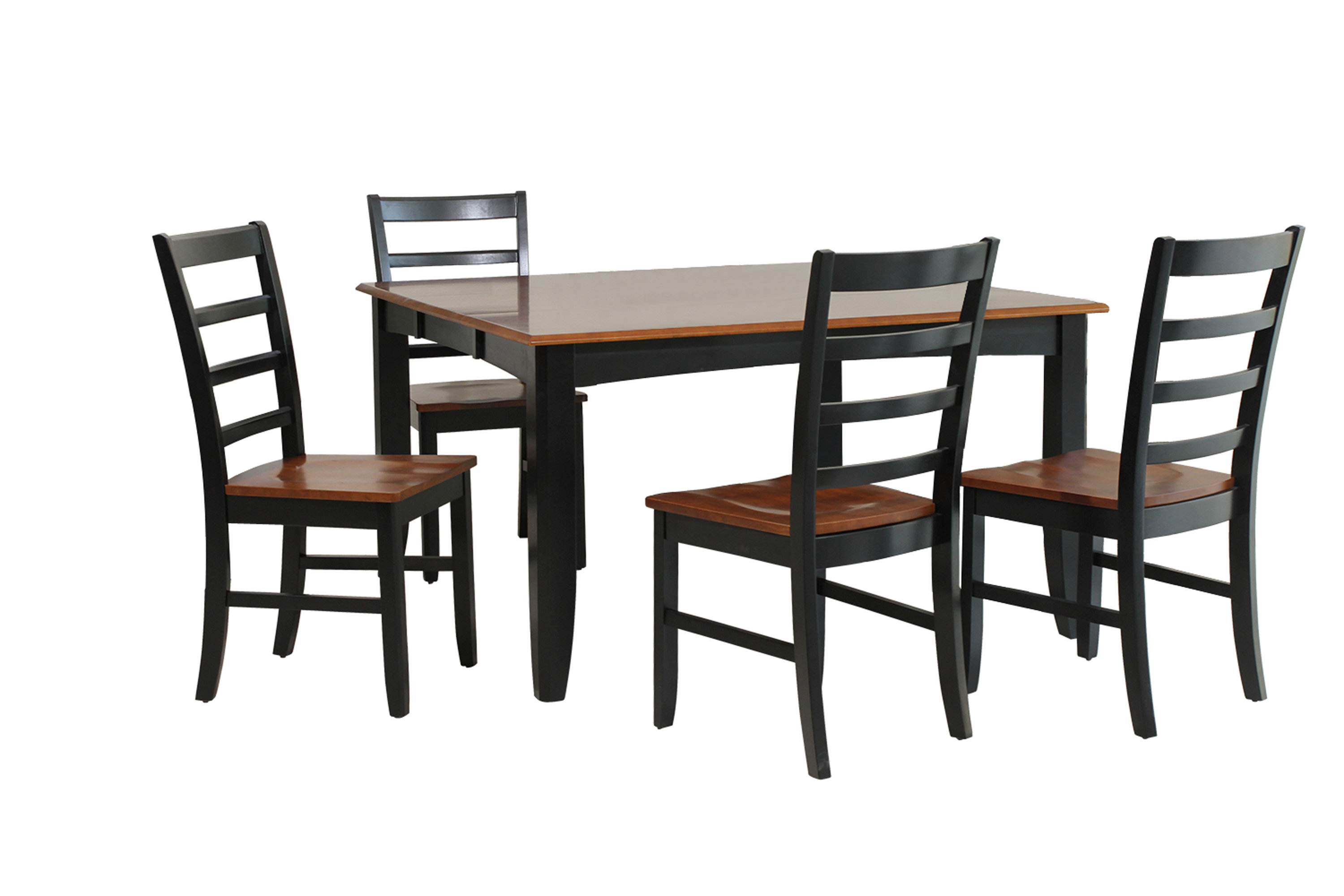 Hanska Wooden 5 Piece Counter Height Dining Table Sets (Set Of 5) Within Latest Wabasca 5 Piece Dining Set (View 12 of 20)