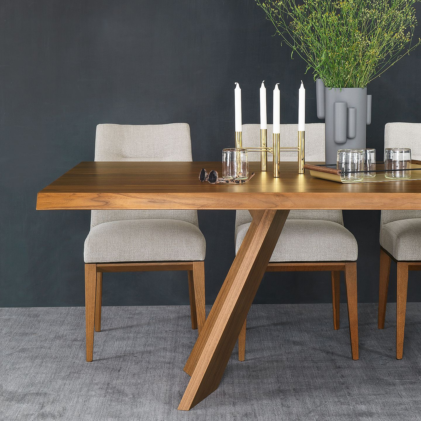 Home Furniture: Italian Design Furnishingcalligaris – Calligaris Intended For Famous North Reading 5 Piece Dining Table Sets (Gallery 19 of 20)