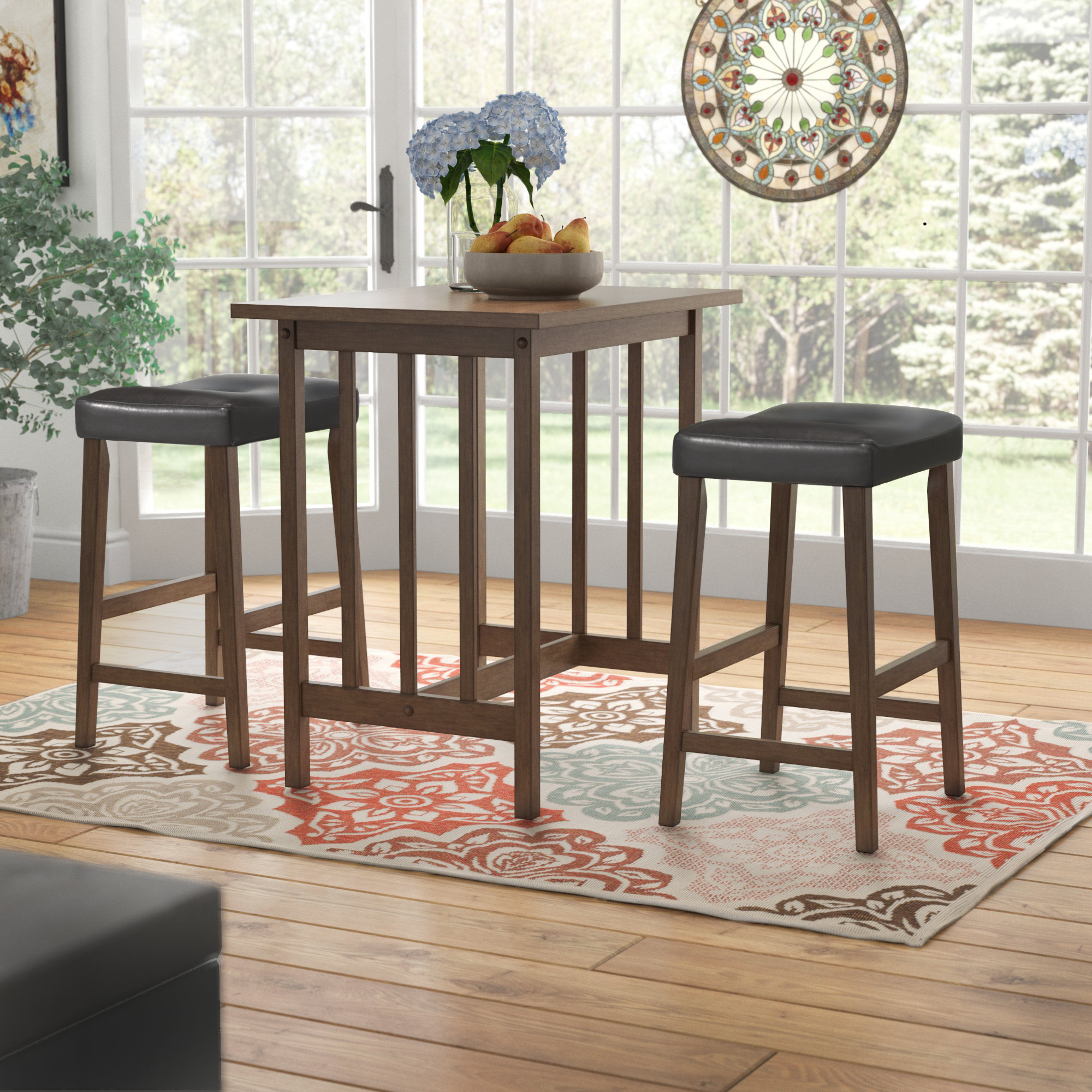 Hood Canal 3 Piece Dining Set Intended For Fashionable Mitzel 3 Piece Dining Sets (View 7 of 20)