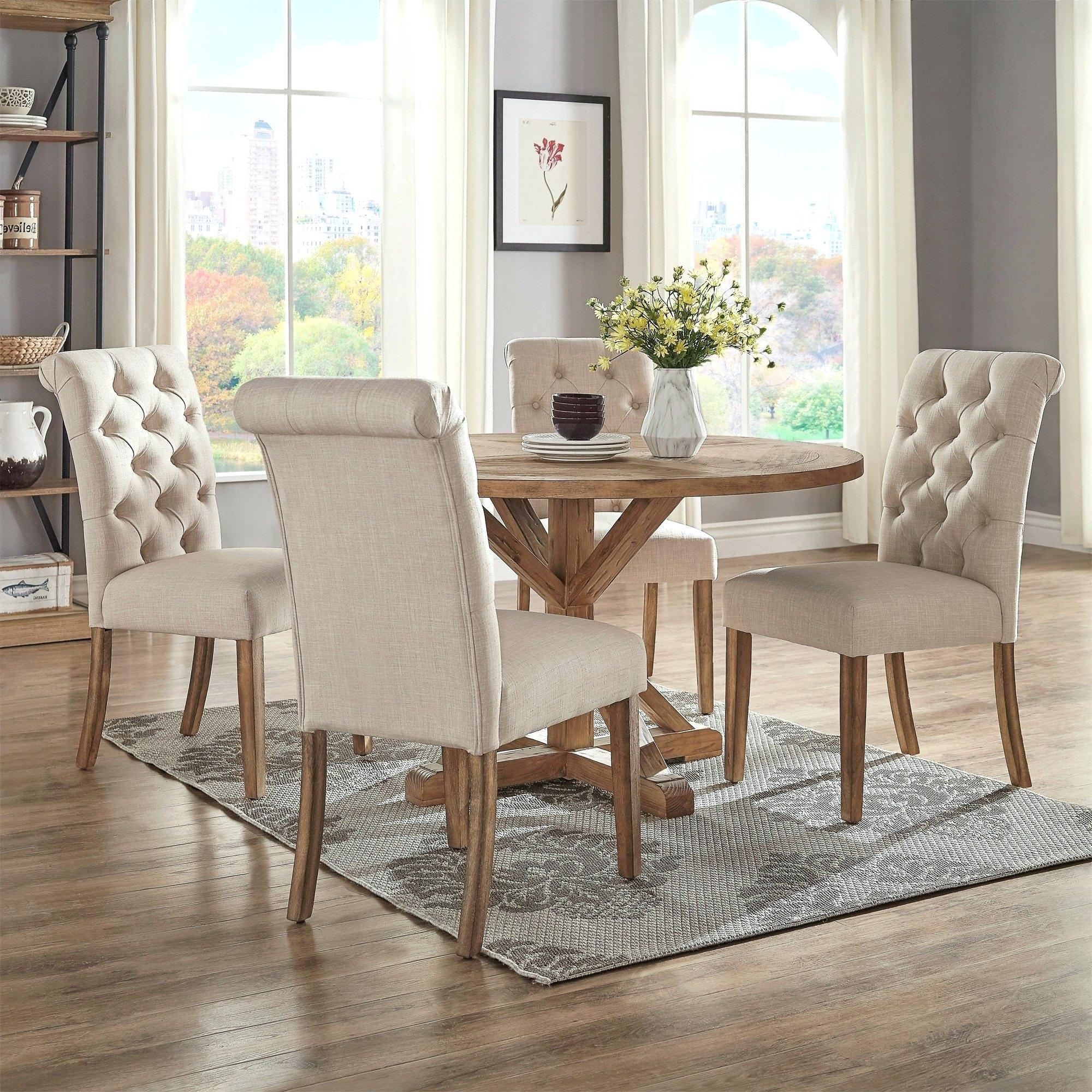 Jarrod 5 Piece Dining Sets Regarding Recent Cheap Dining Table Sets Walmart (View 11 of 20)