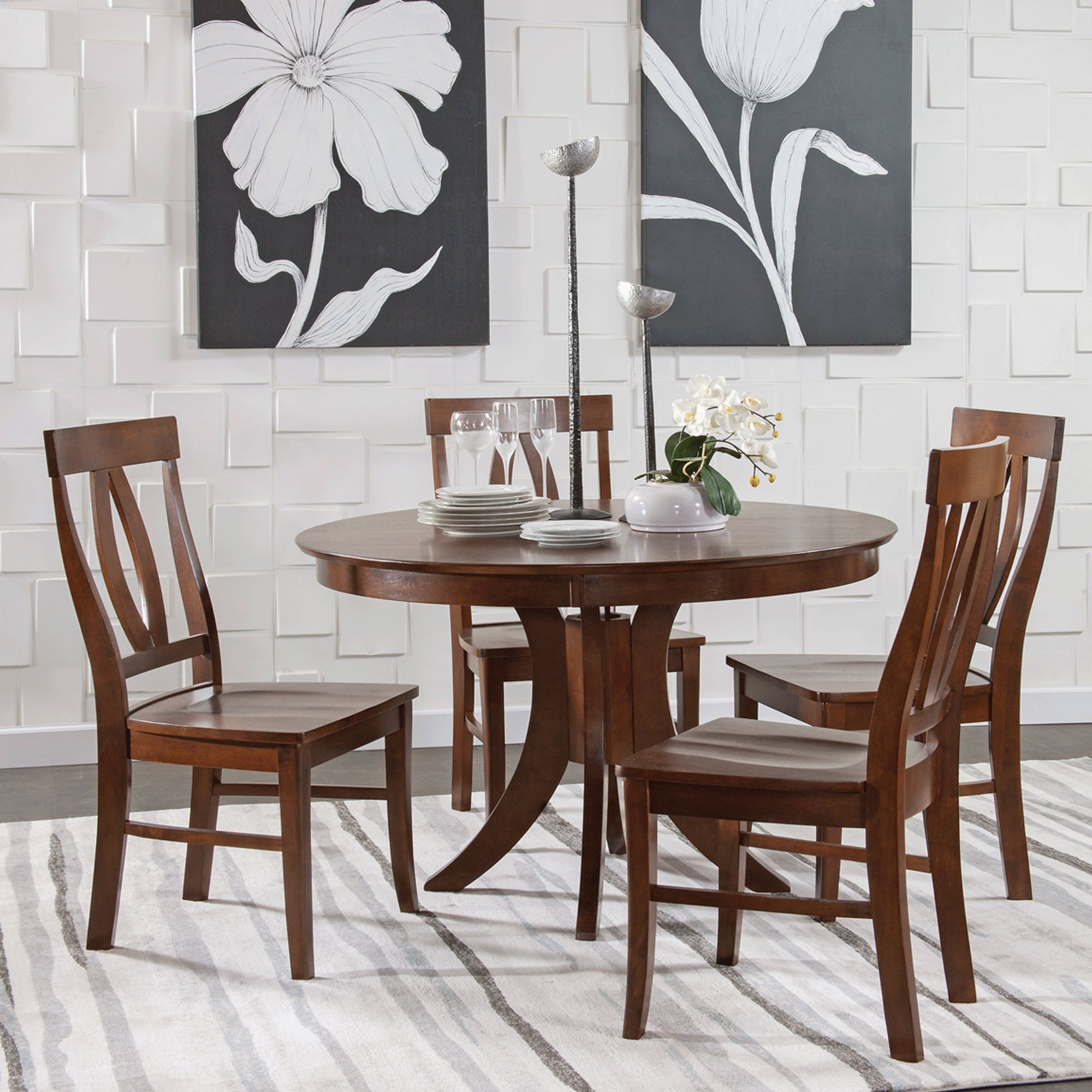 John 4 Piece Dining Sets Inside Current Cosmopolitan Espresso 5 Piece Set – Pub Table With 4 Verona Stools (View 8 of 20)