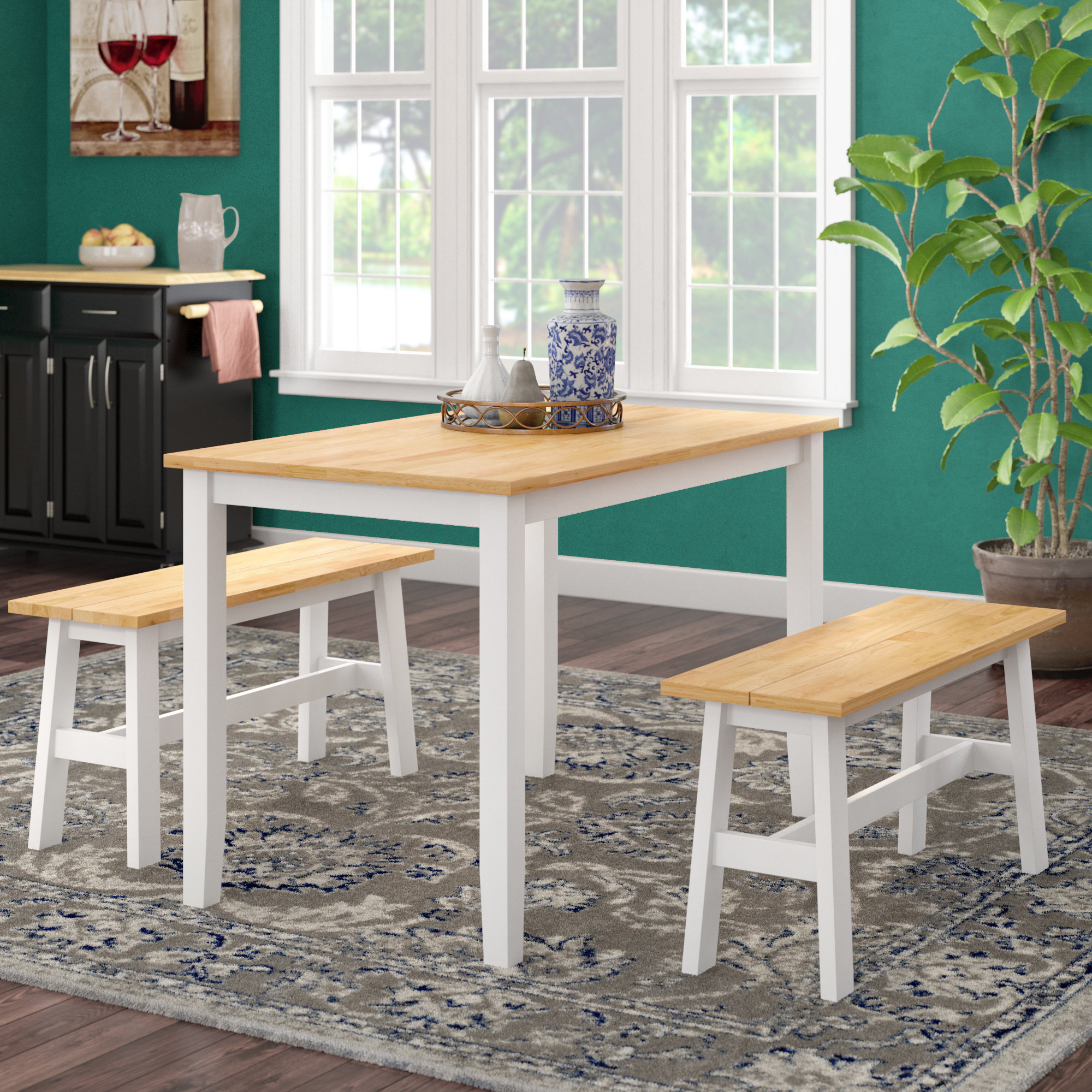Kaya 3 Piece Dining Set Throughout Most Recently Released Kaya 3 Piece Dining Sets (Gallery 1 of 20)